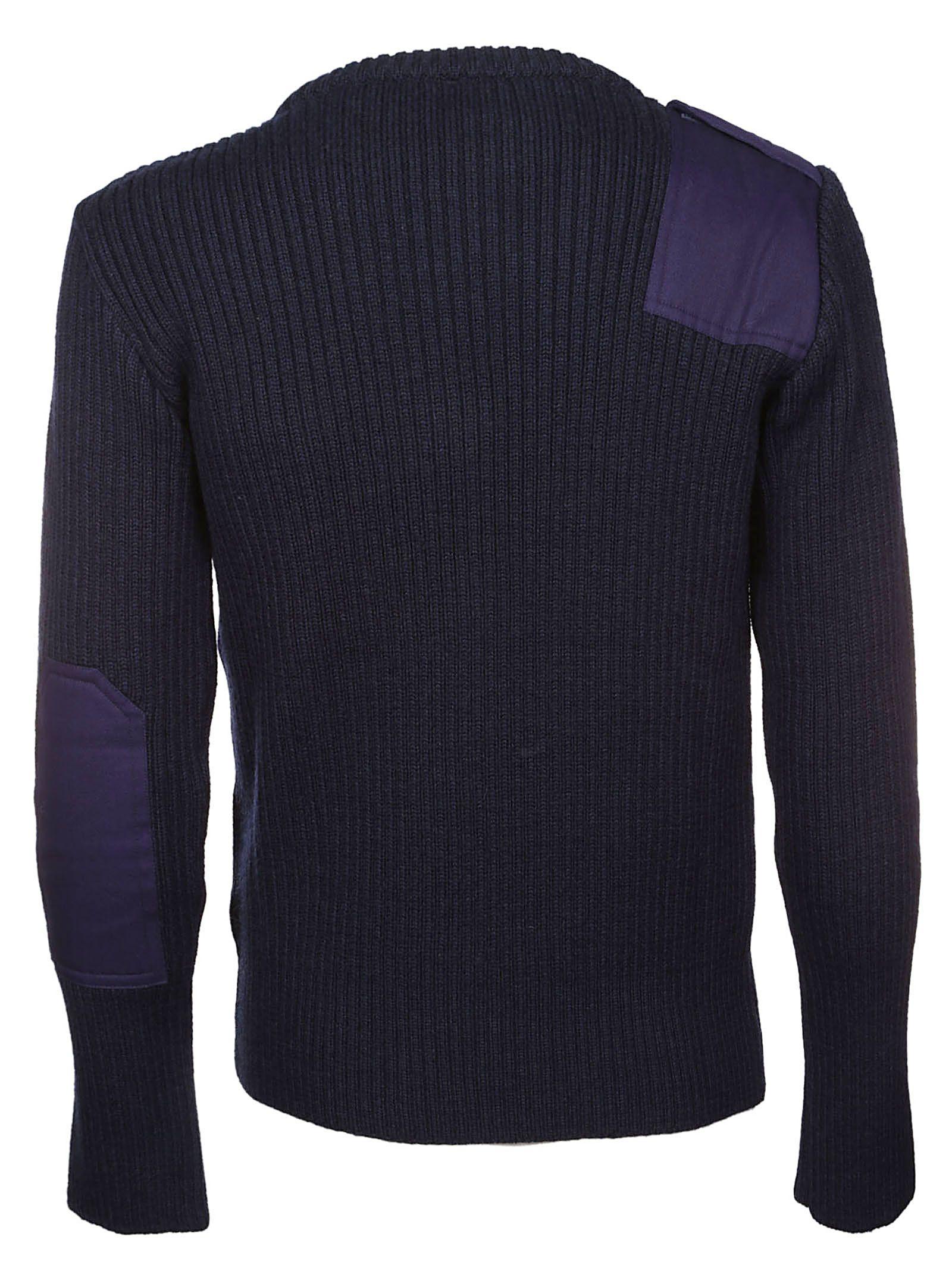 Pocket Rubchinskiy Camouflage Sweater Navy Gosha 7EZwqZ