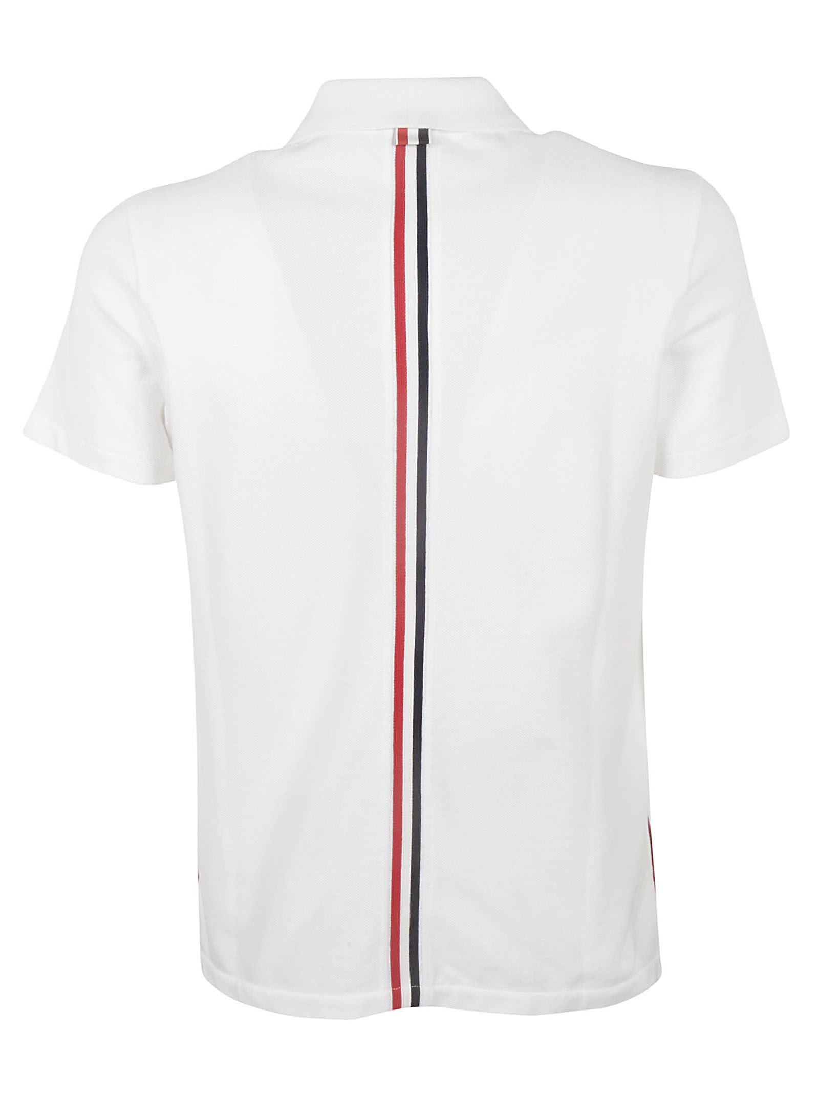 4ad37727 Thom Browne Thom Browne Signature Stripe Polo Shirt - WHITE ...