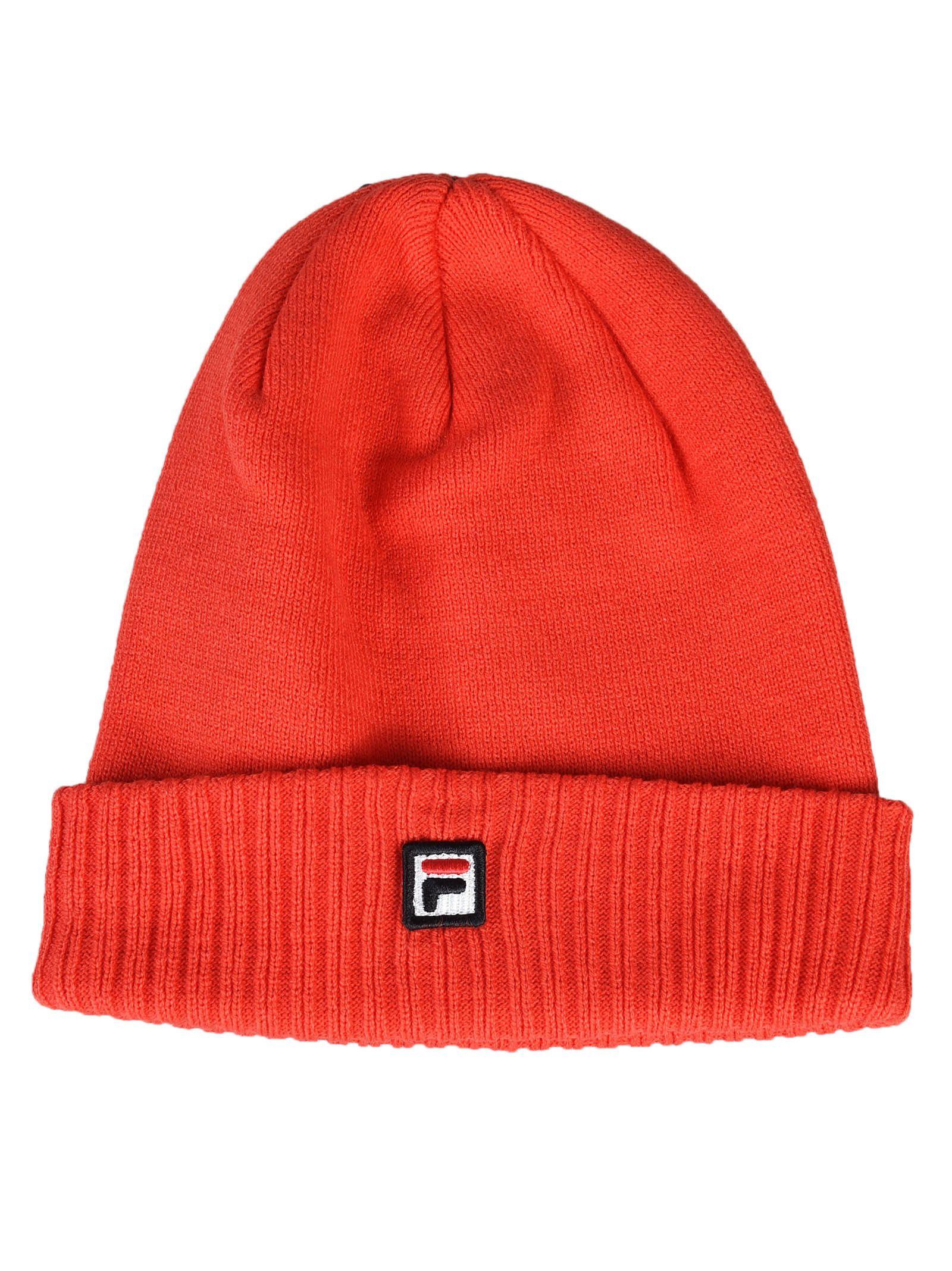 877008fa163 Fila Fila Logo Knit Beanie - Red - 8922145