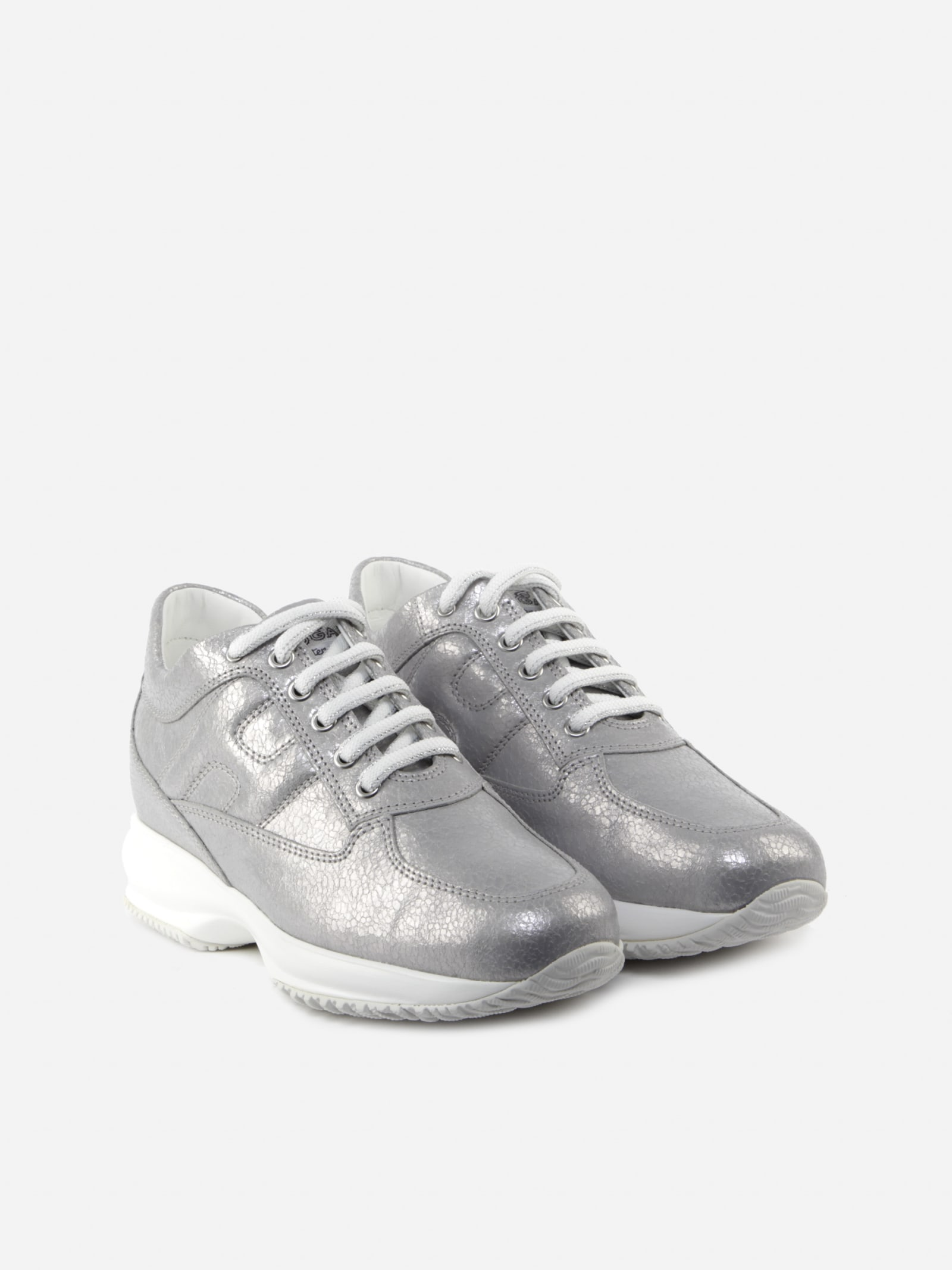 Hogan Interactive Sneakers With A Pearly Finish | Iicf
