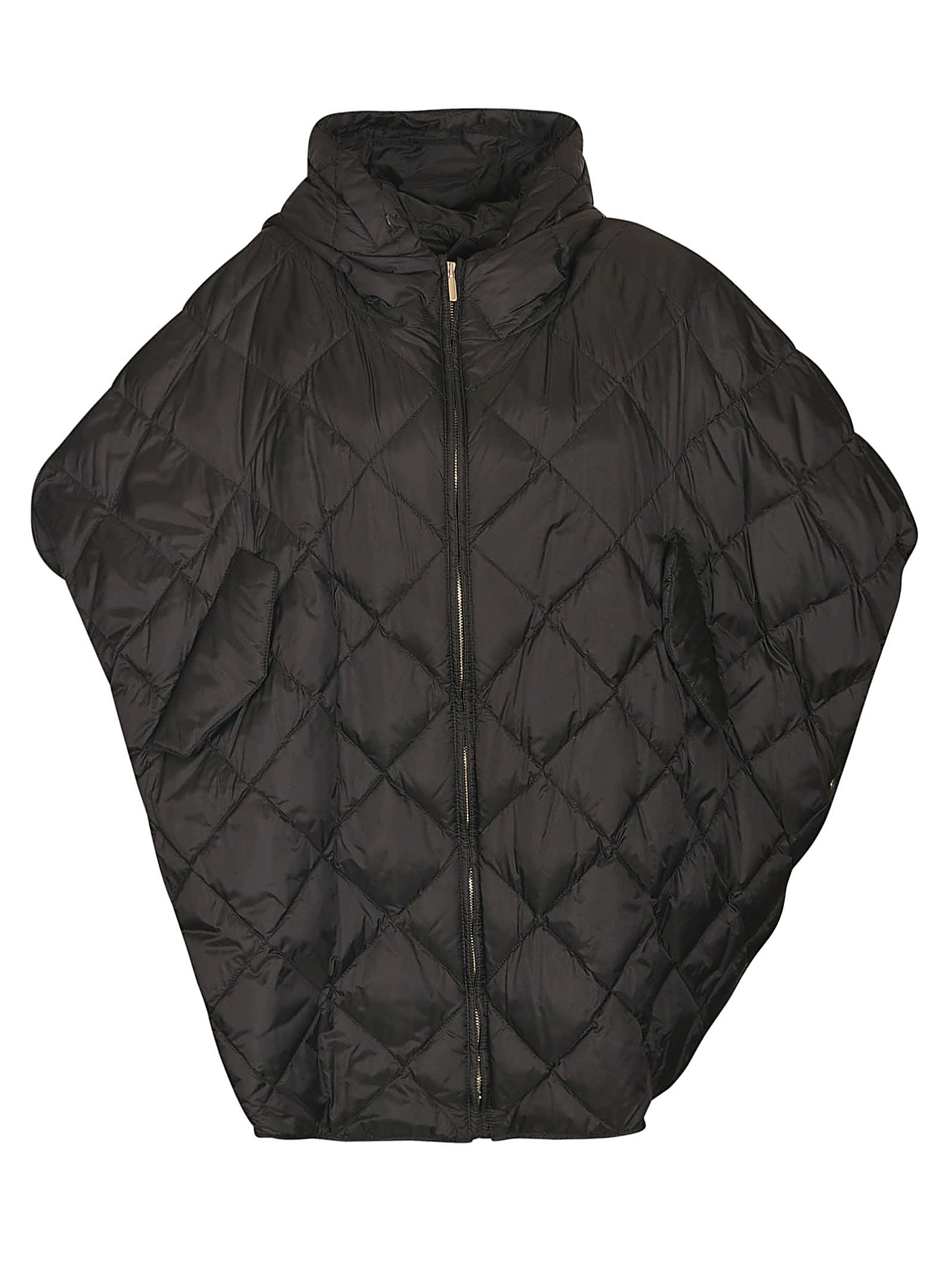 Treman Quilted Cape