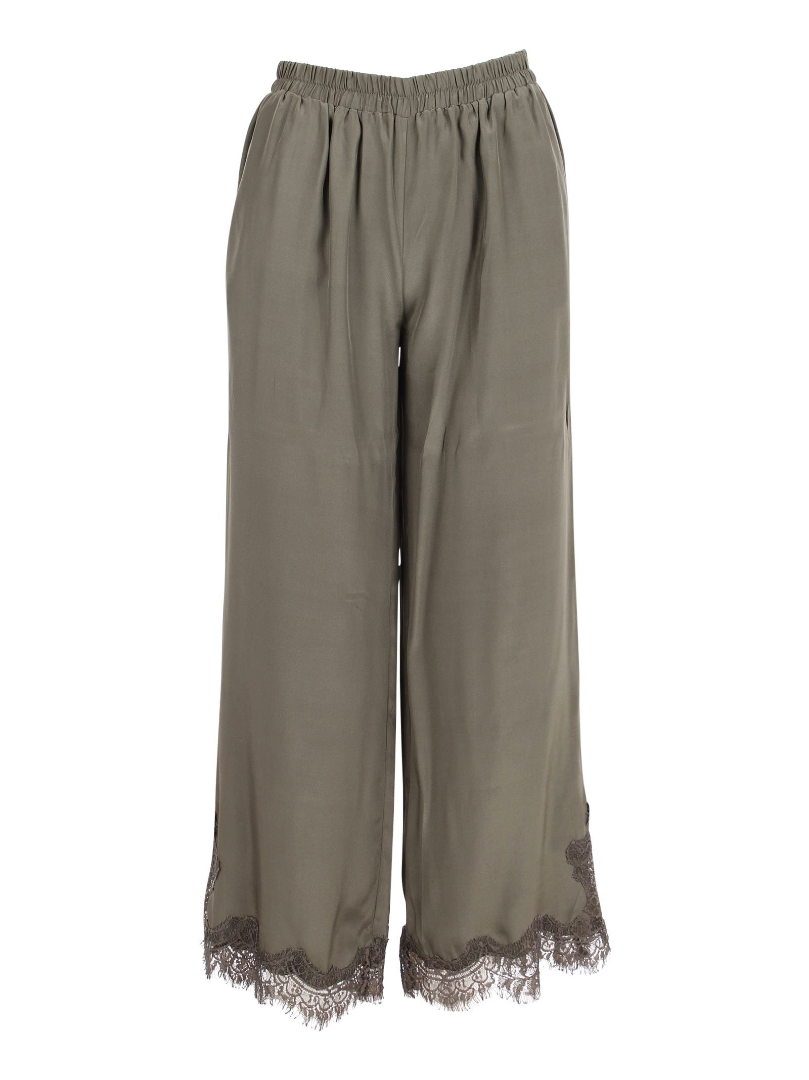 coco Silk Trousers