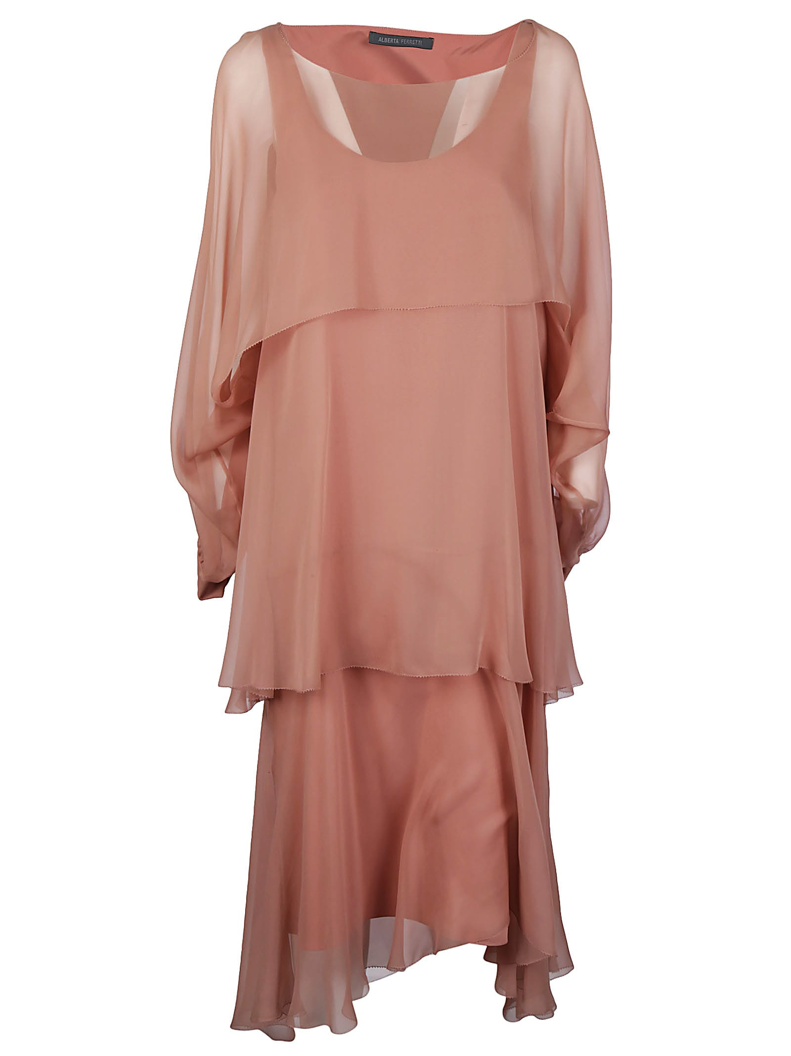 Photo of  Alberta Ferretti Asymmetric Dress- shop Alberta Ferretti  online sales
