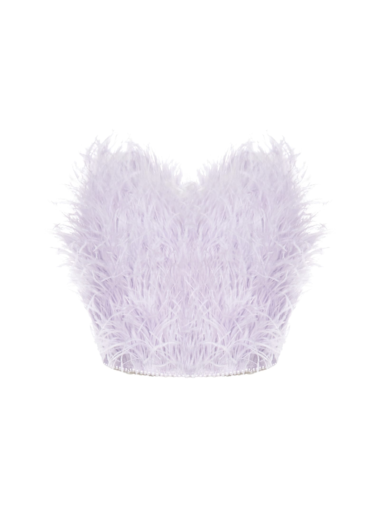 The Attico Feathers Top