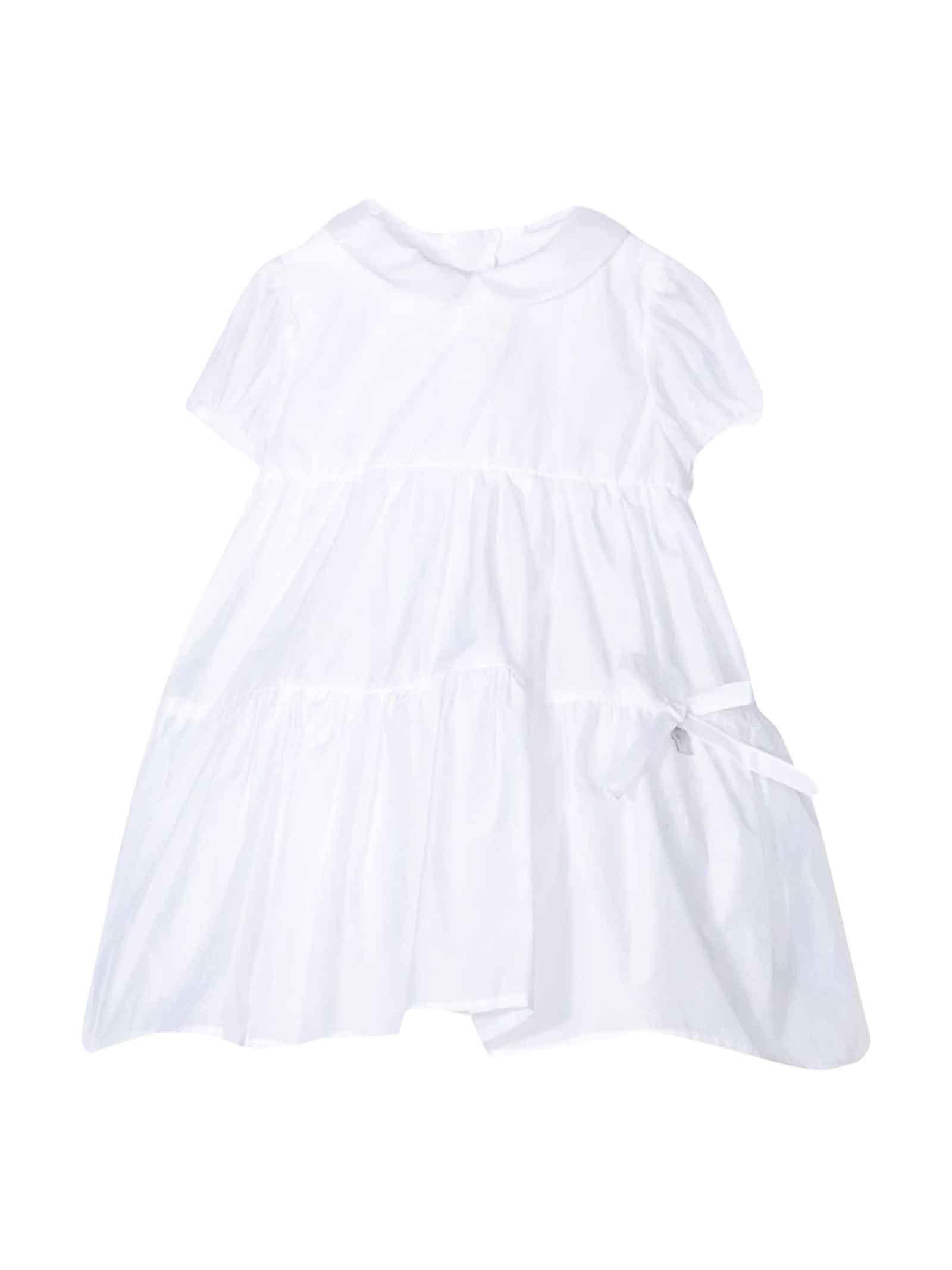 Buy Simonetta White Dress Kids online, shop Simonetta with free shipping