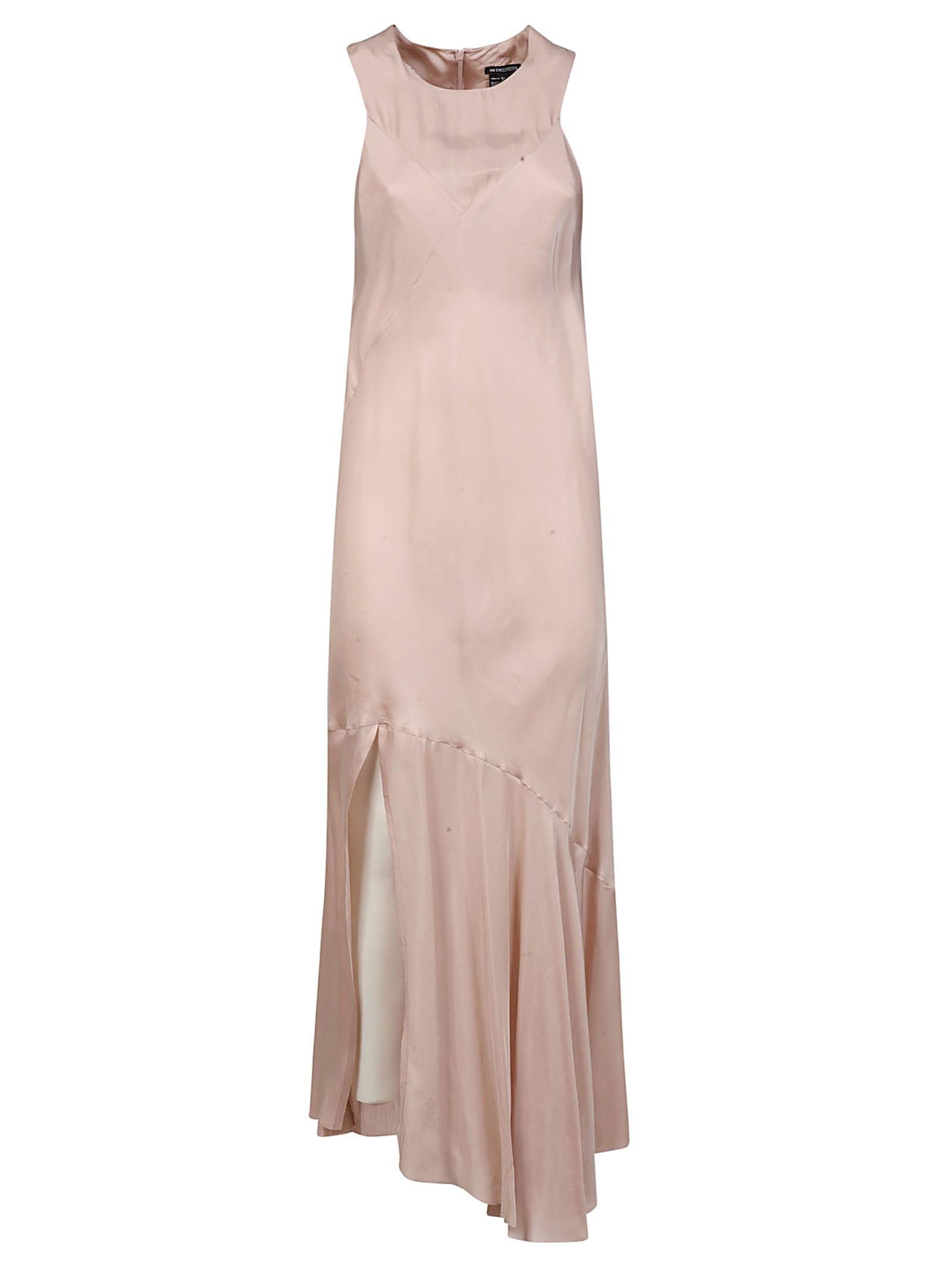 Buy Ann Demeulemeester Asymmetric Sleeveless Dress online, shop Ann Demeulemeester with free shipping