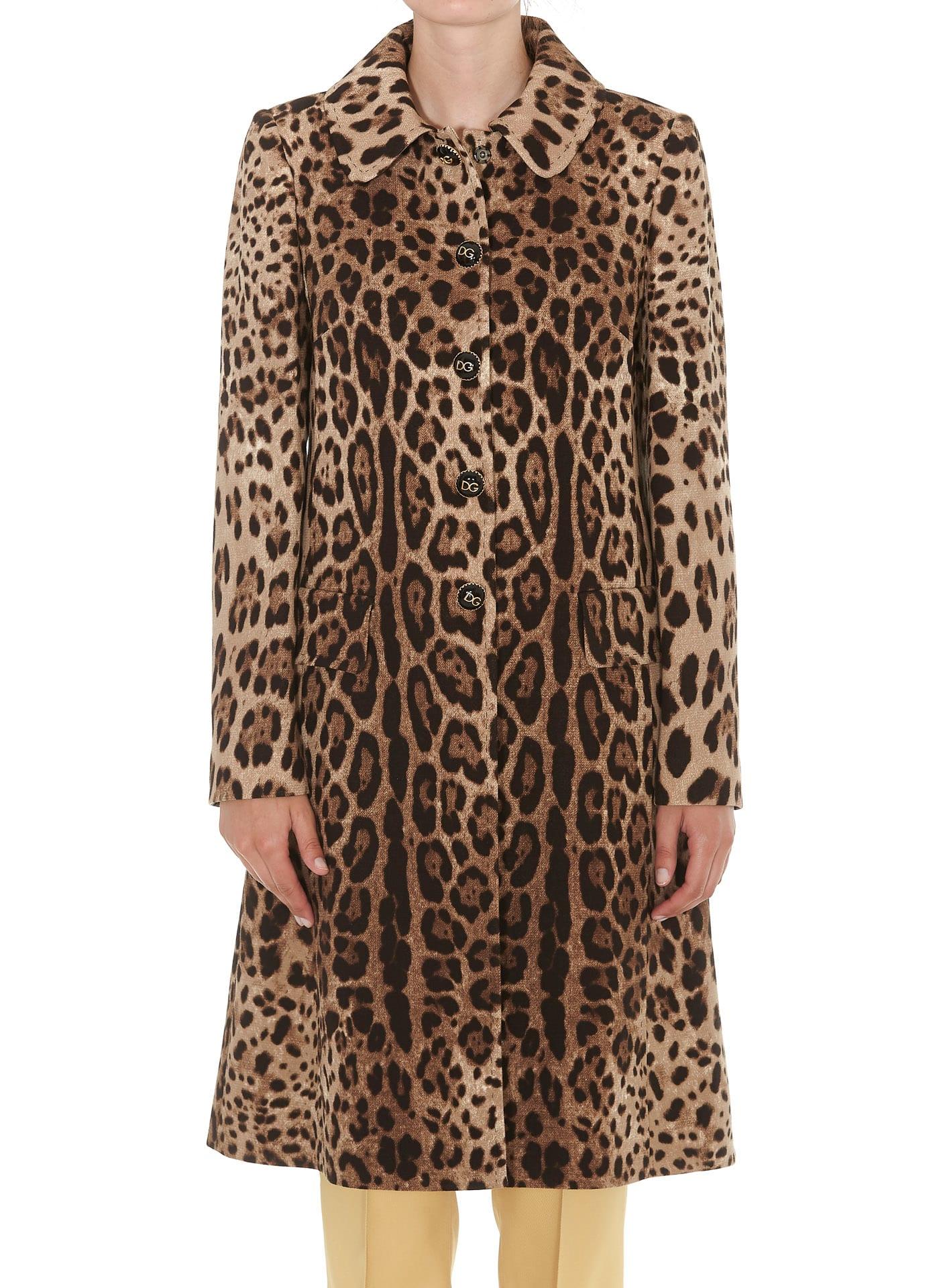 Dolce & Gabbana Animalier Coat