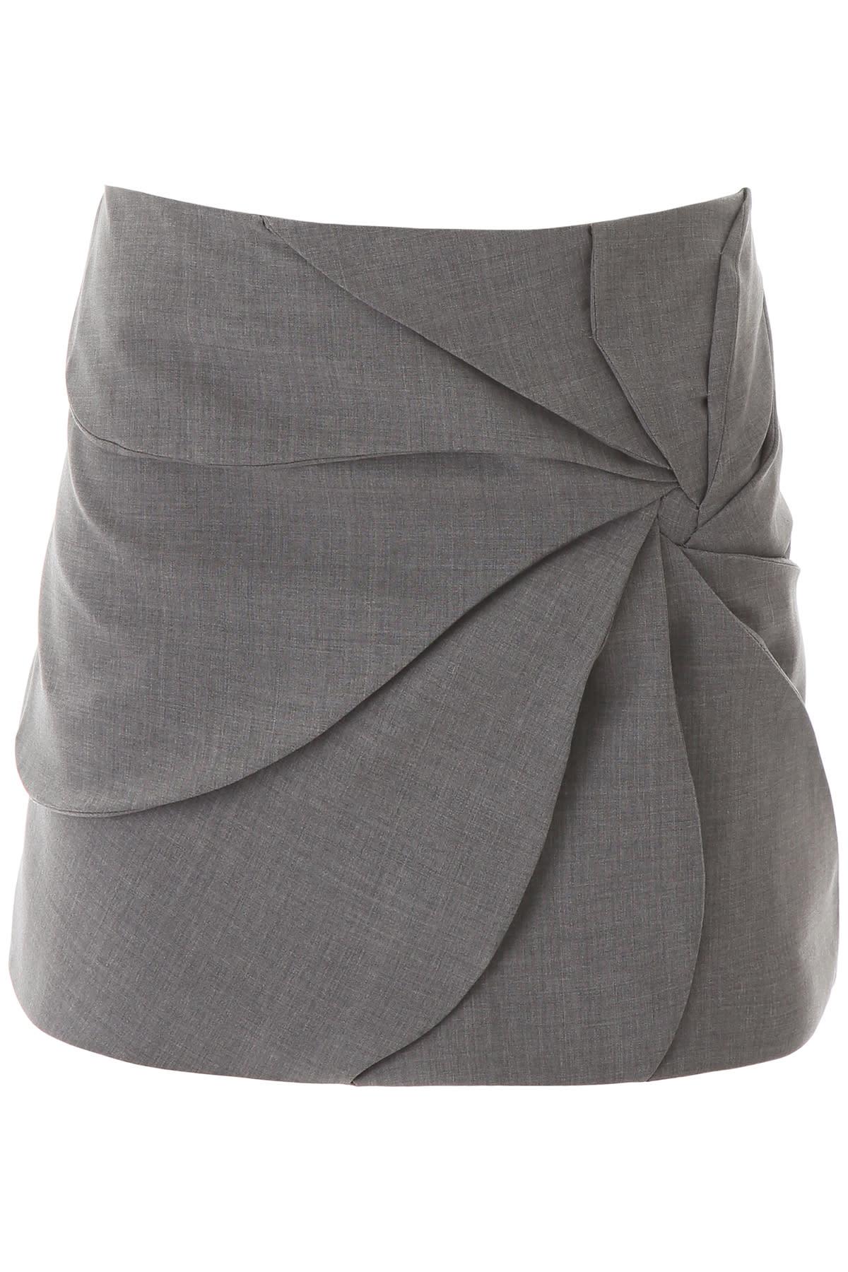 Coperni Draped Mini Skirt