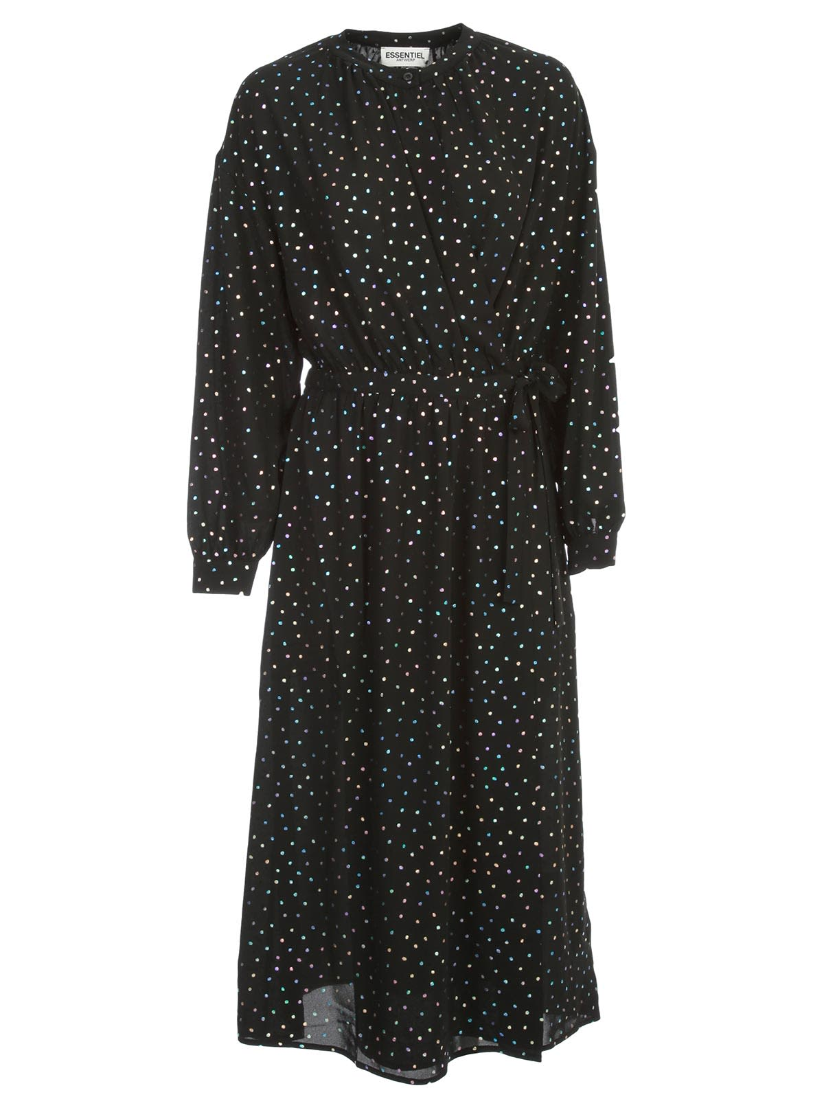 Buy Essentiel Antwerp Vidaloca Long Wide Dress L/s Solid Colour online, shop Essentiel Antwerp with free shipping