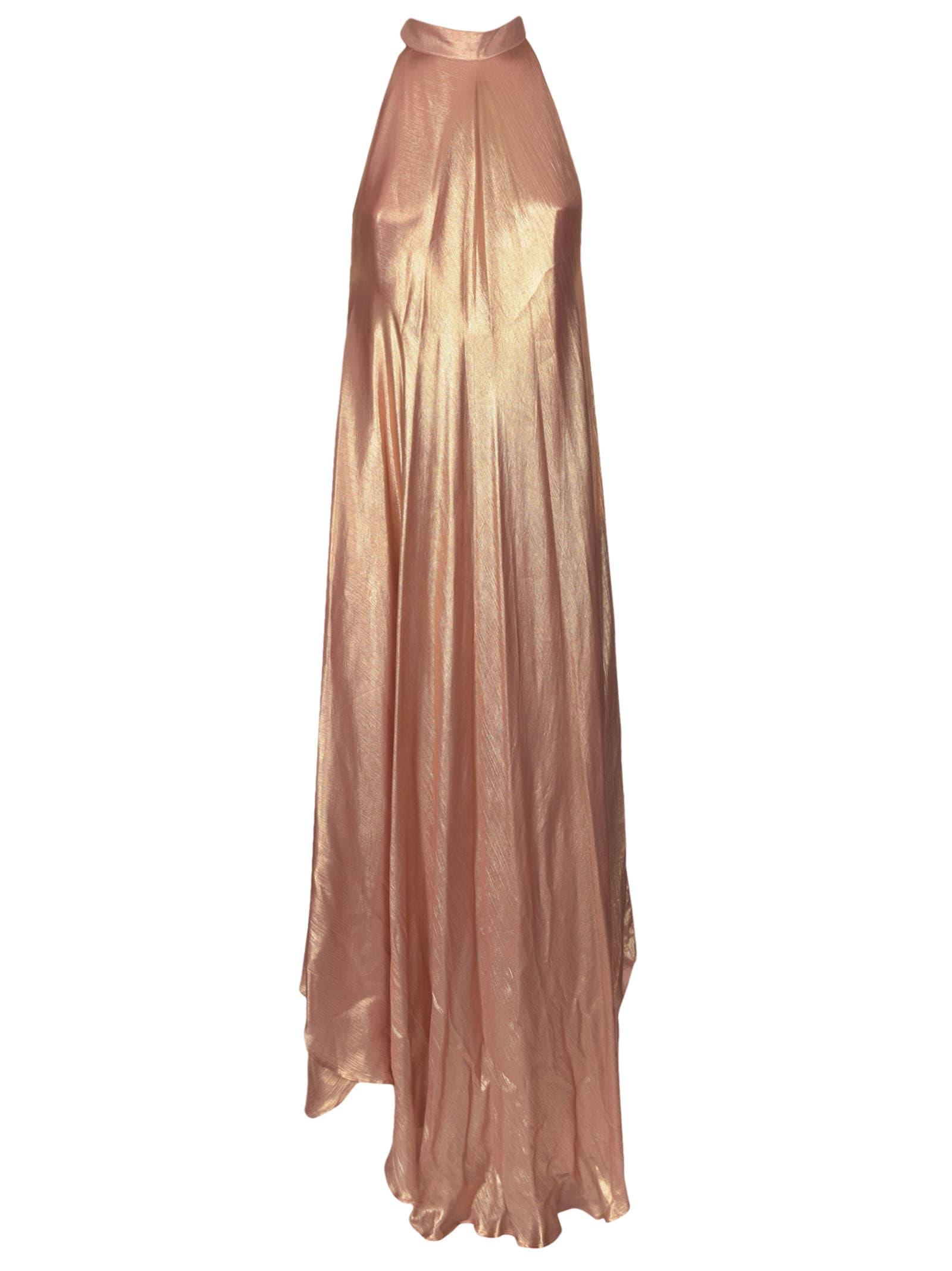 Mes Demoiselles Cut-out Shoulder Asymmetric Dress