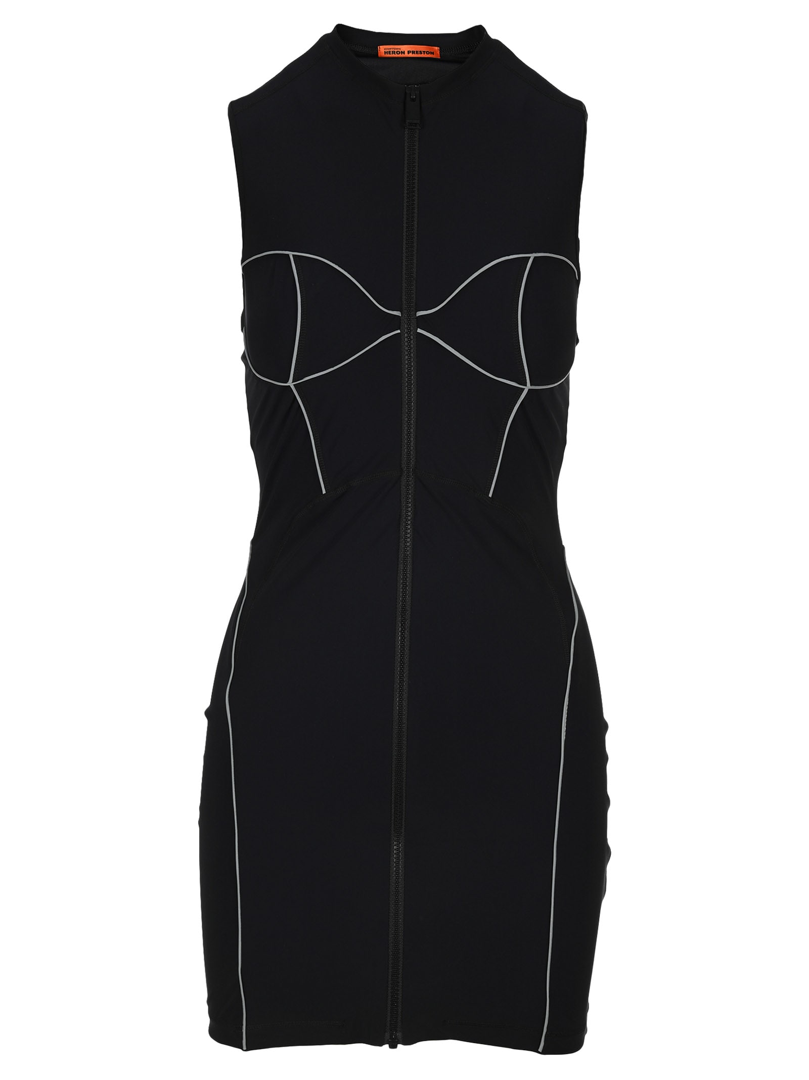 Buy HERON PRESTON Heron Preston Active Mini Dress online, shop HERON PRESTON with free shipping