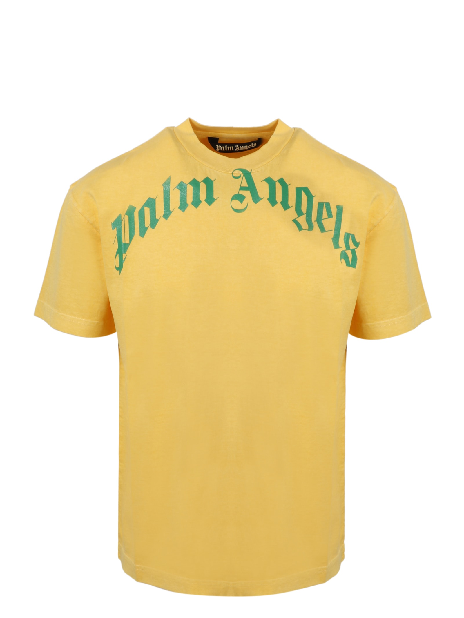 Palm Angels CURVED LOGO T-SHIRT