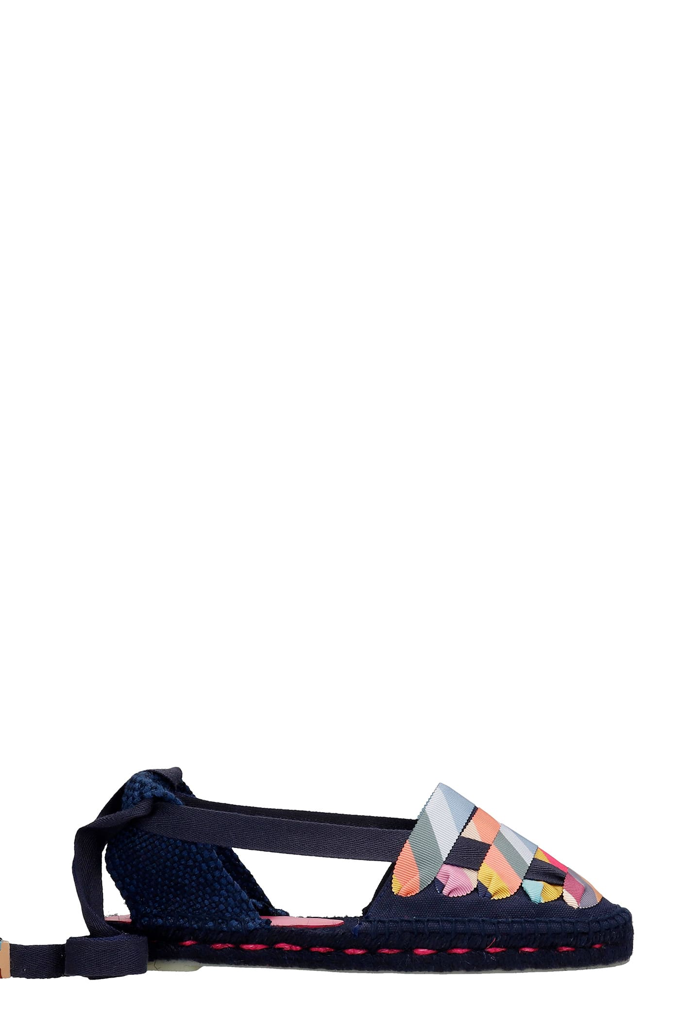 Jean C Ps 001 Espadrilles In Blue Canvas