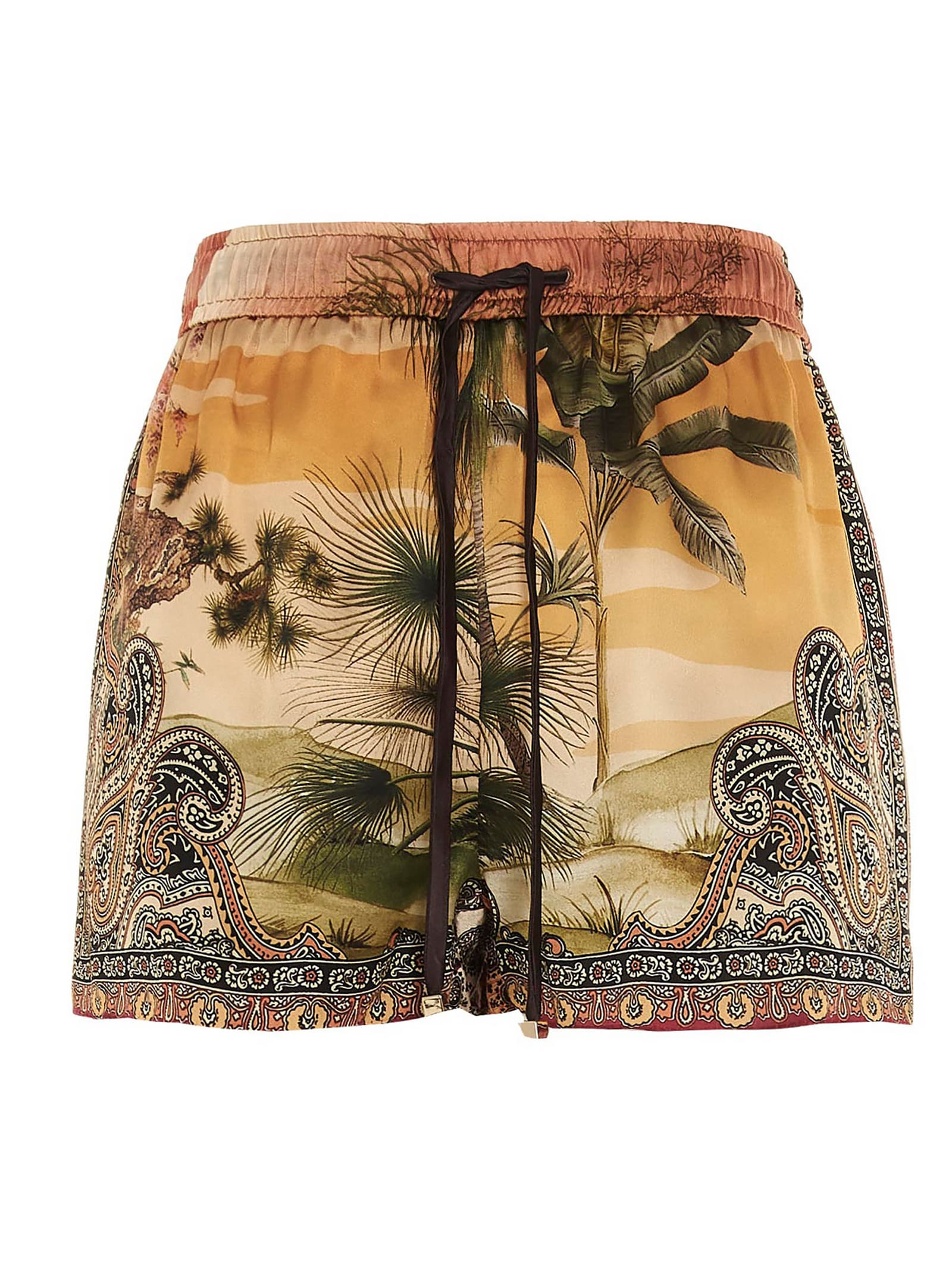 F.r.s For Restless Sleepers Clothing JAGUAR IN THE OASIS SHORTS