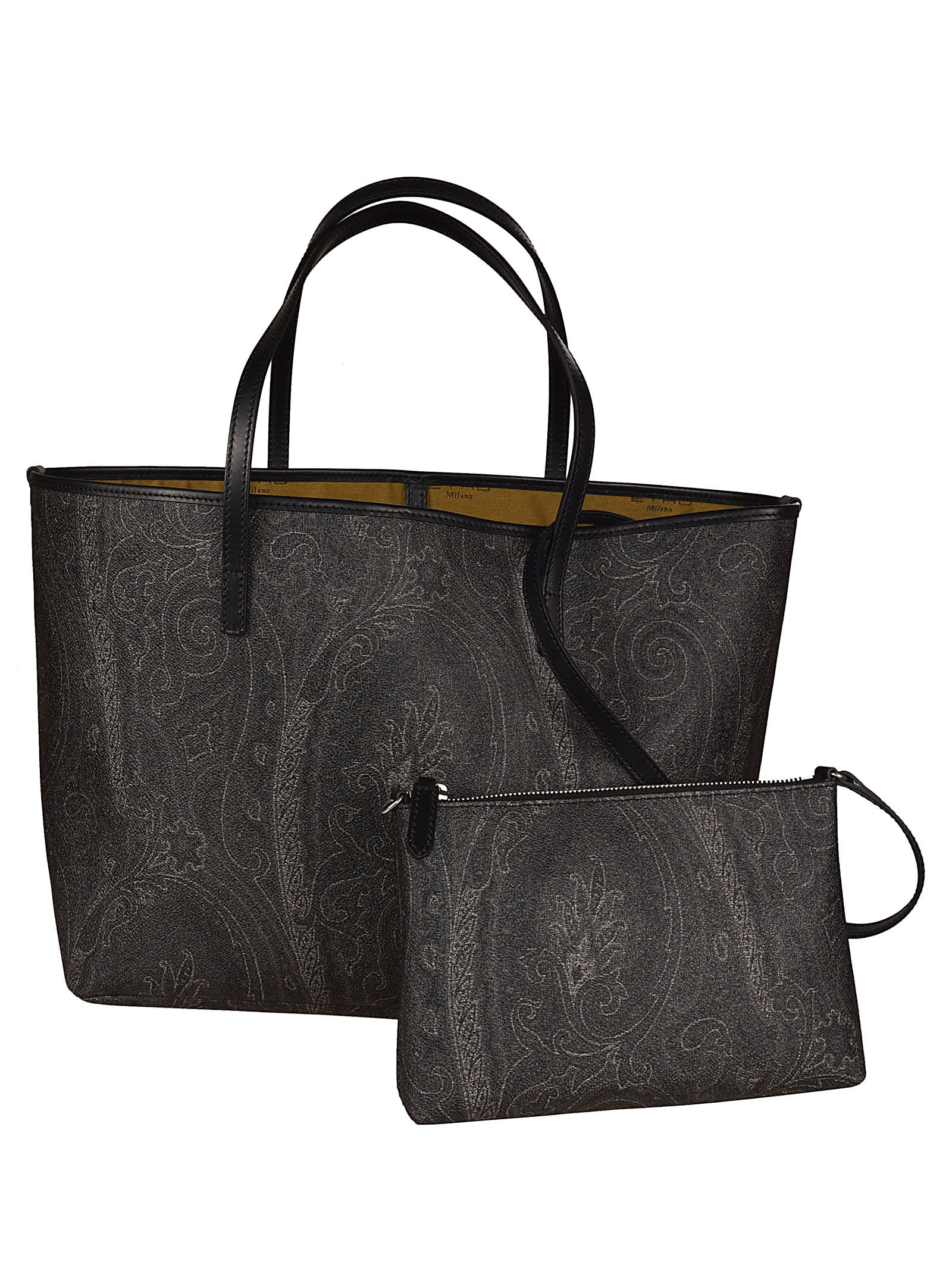 official photos 8162a 7e351 Best price on the market at italist | Etro Etro Shopping Book Paisley Tote