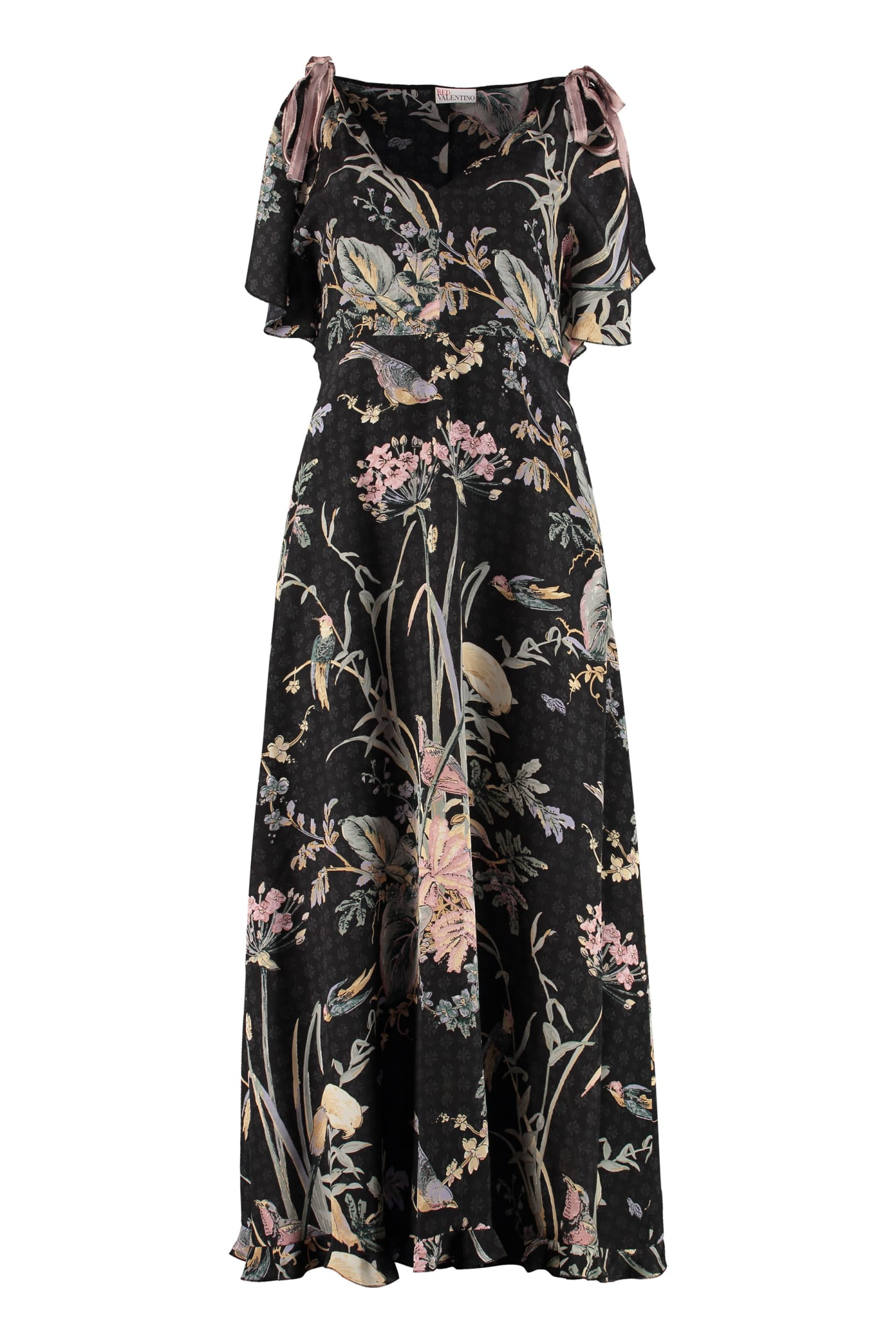 Buy Floral Maxi Dress online, shop RED Valentino with free shipping