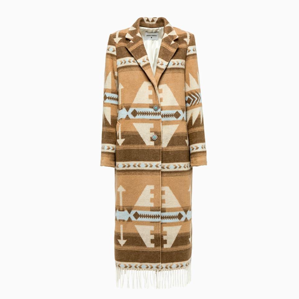 Franges Coat Camel Frontstreet 50845-1542