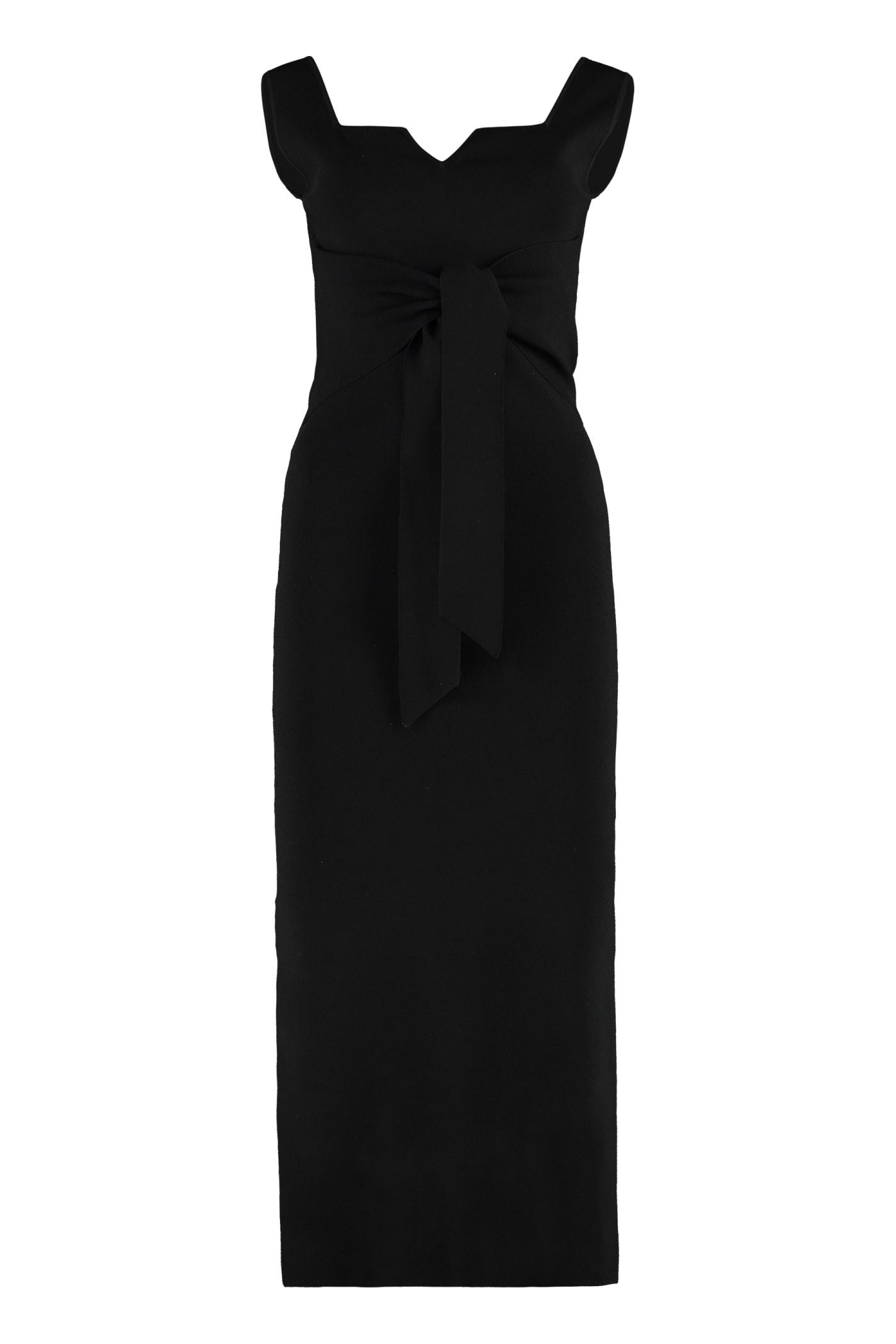Buy Nanushka Melon Ribbed Knit Dress online, shop Nanushka with free shipping