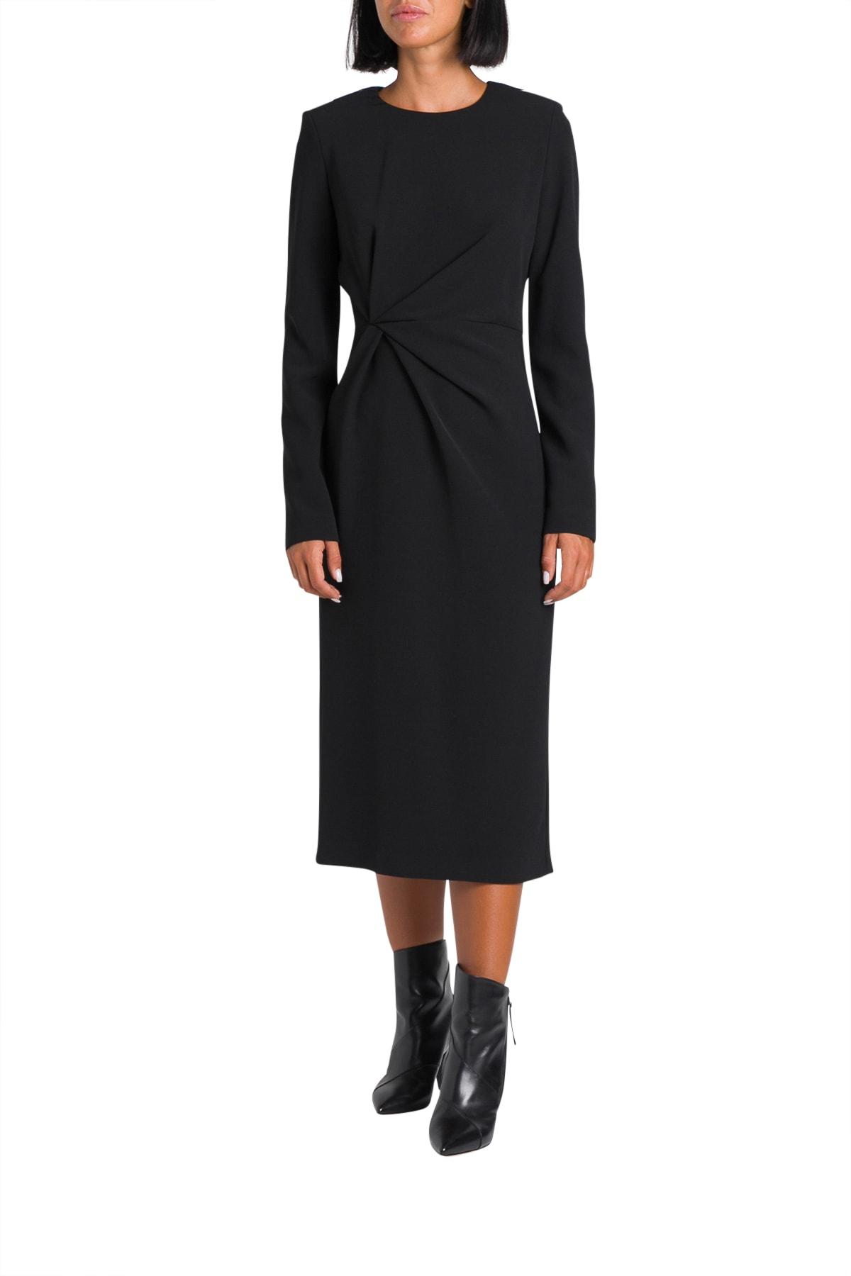 Parosh Long Dress With Draping