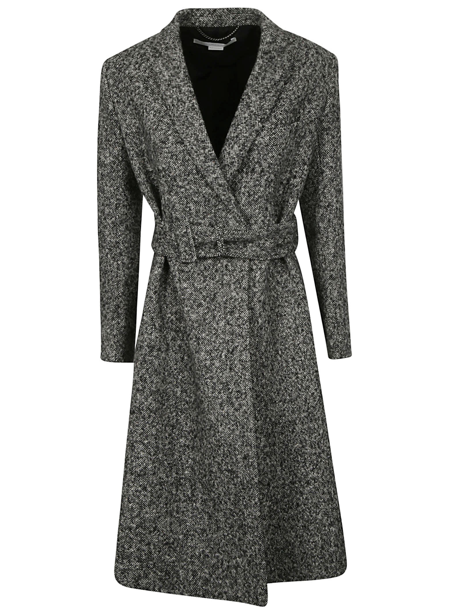 Stella McCartney Salt Pepper Tailoring Coat