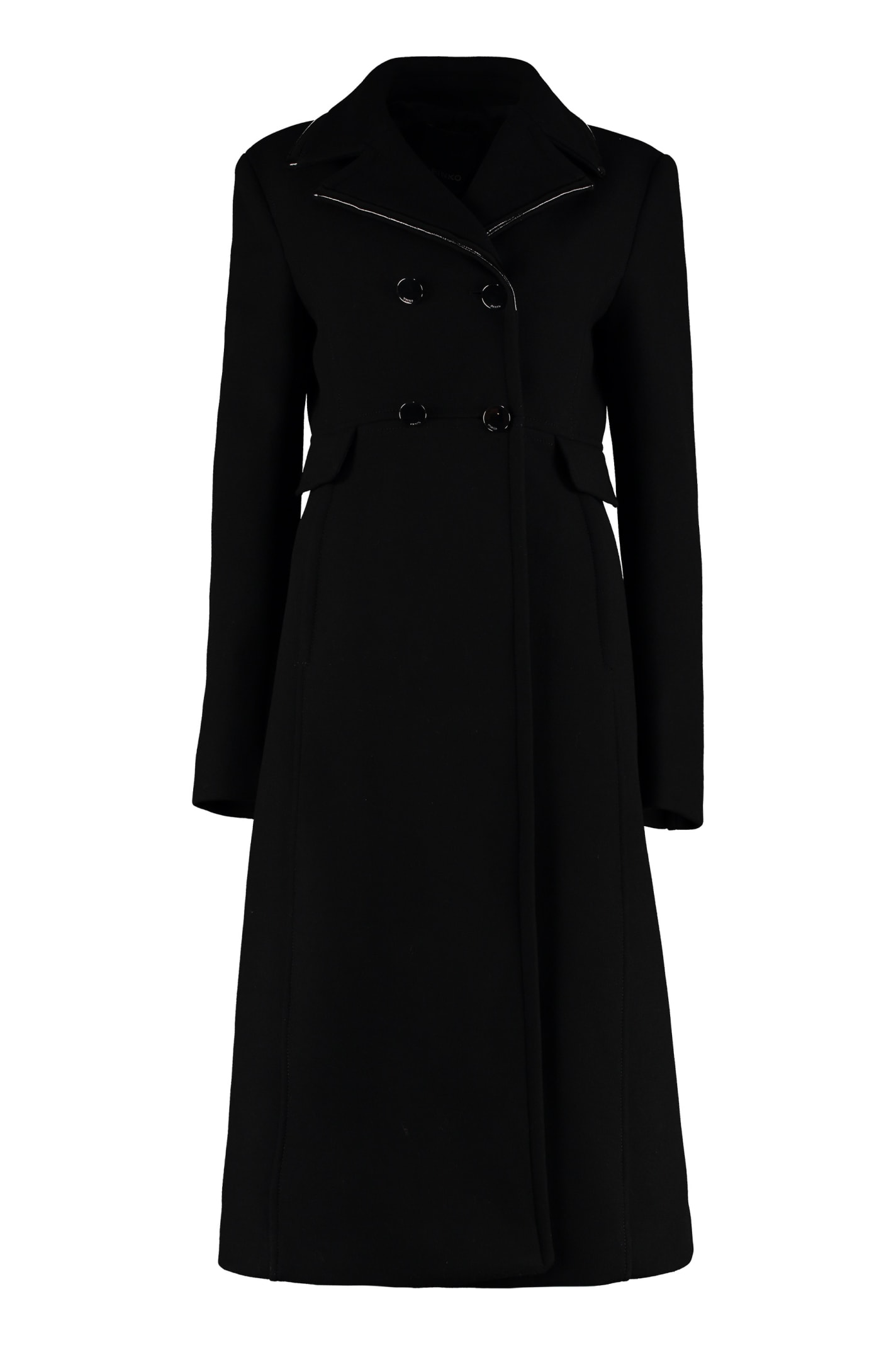 Pinko Preporre Long Wool Cloth Coat