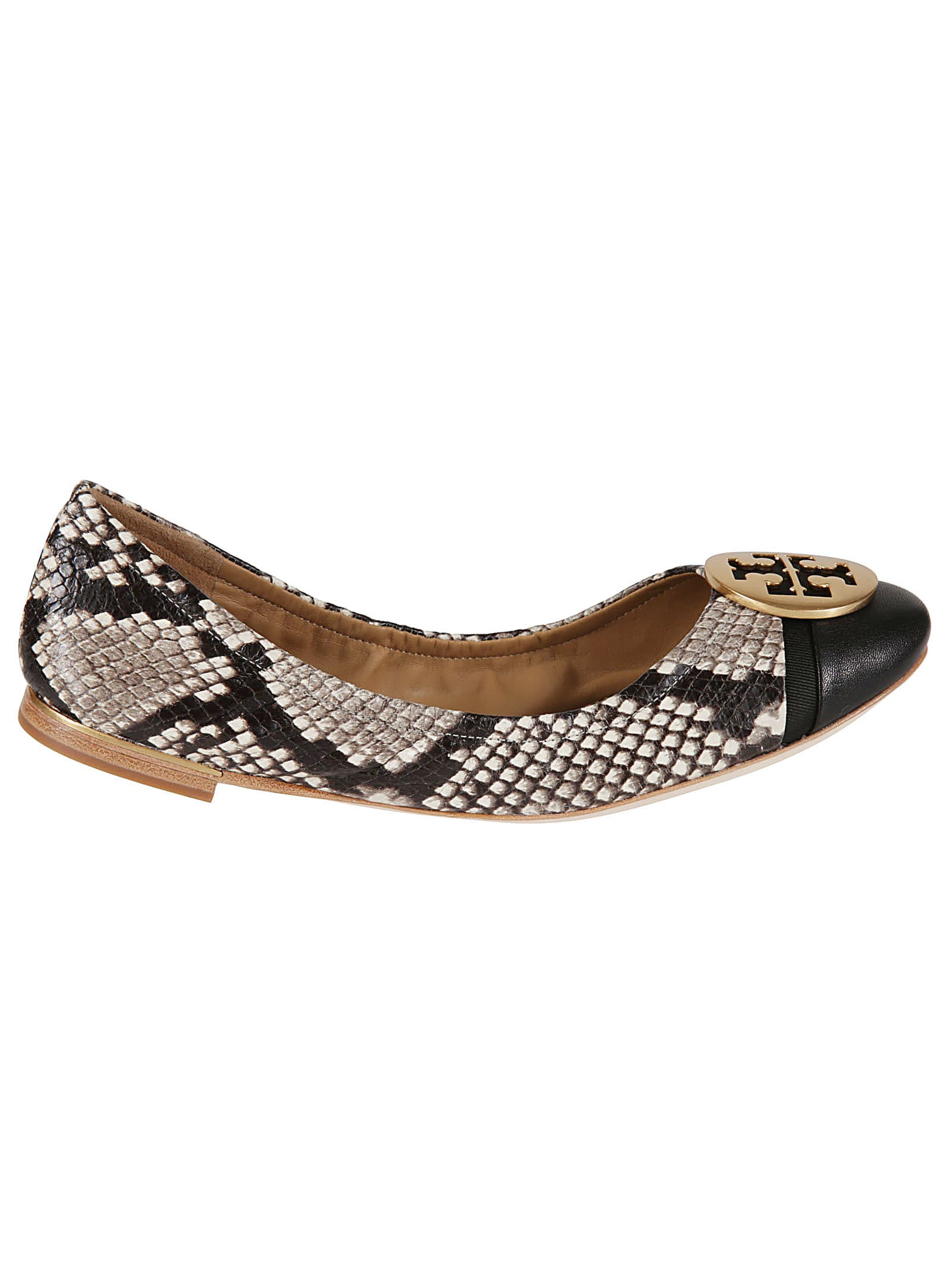 Tory Burch Minnie Cap-toe Ballerinas
