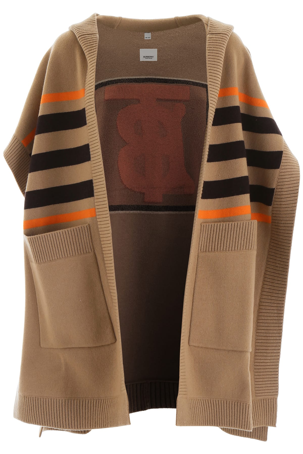 Photo of  Burberry Intarsia Cape- shop Burberry jackets online sales