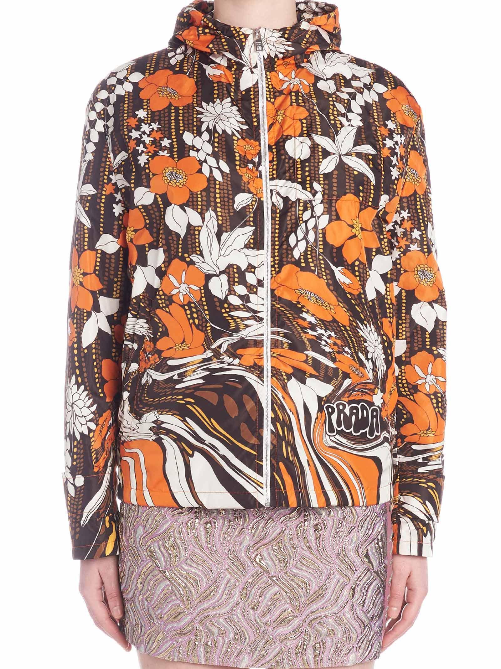 Prada flower 2 Jacket