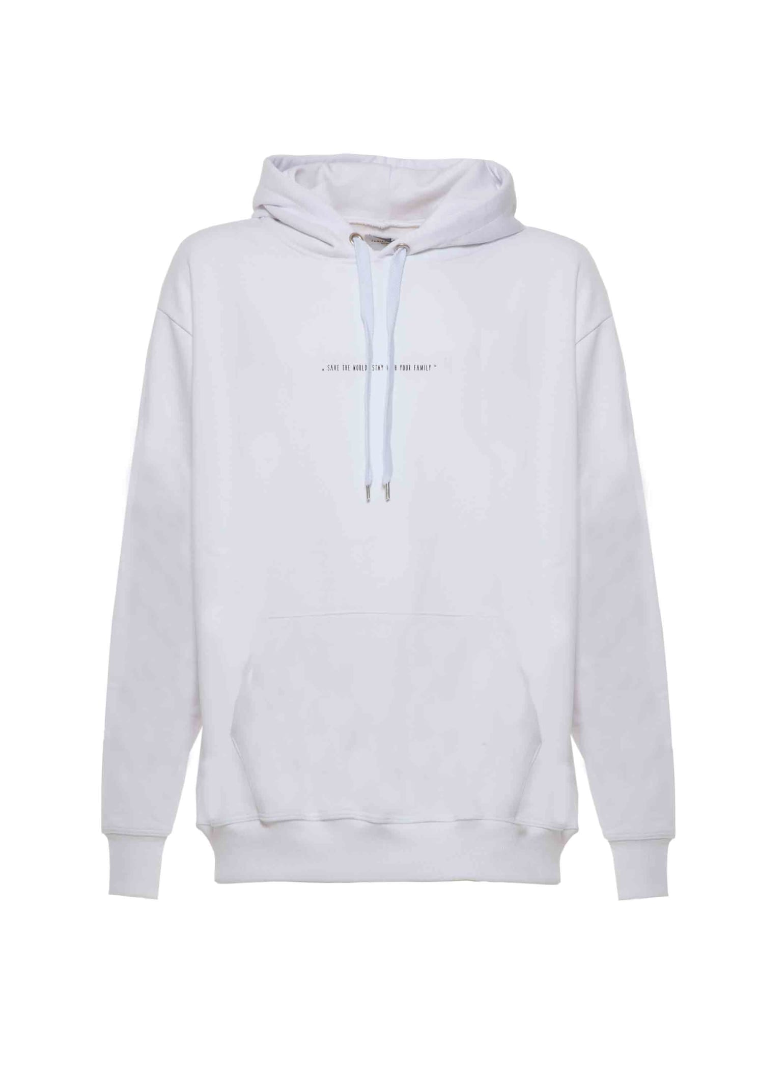 Hoodie Iconic White