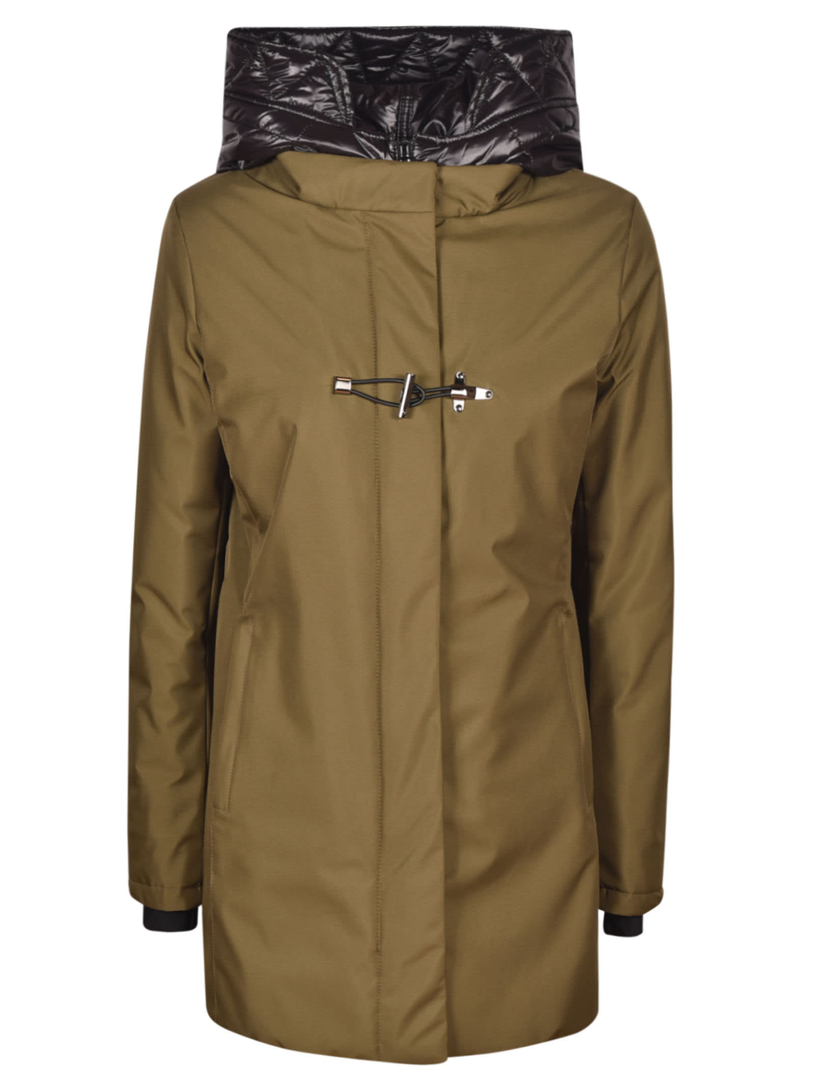 Fay Heroes Parka In Gemma/brown