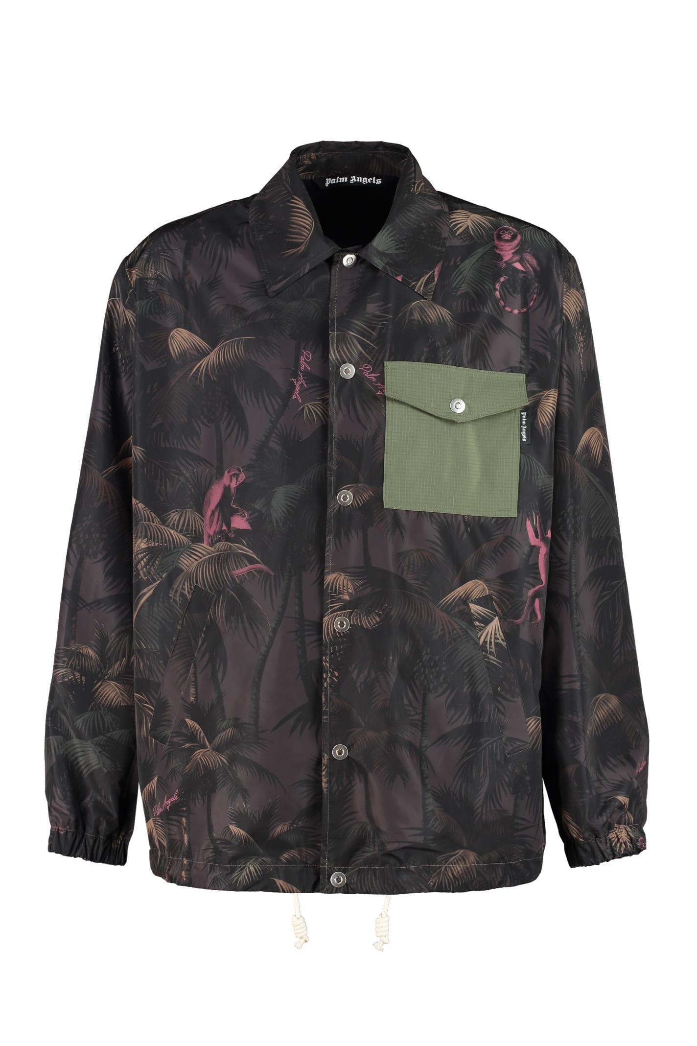 Palm Angels Techno Fabric Jacket