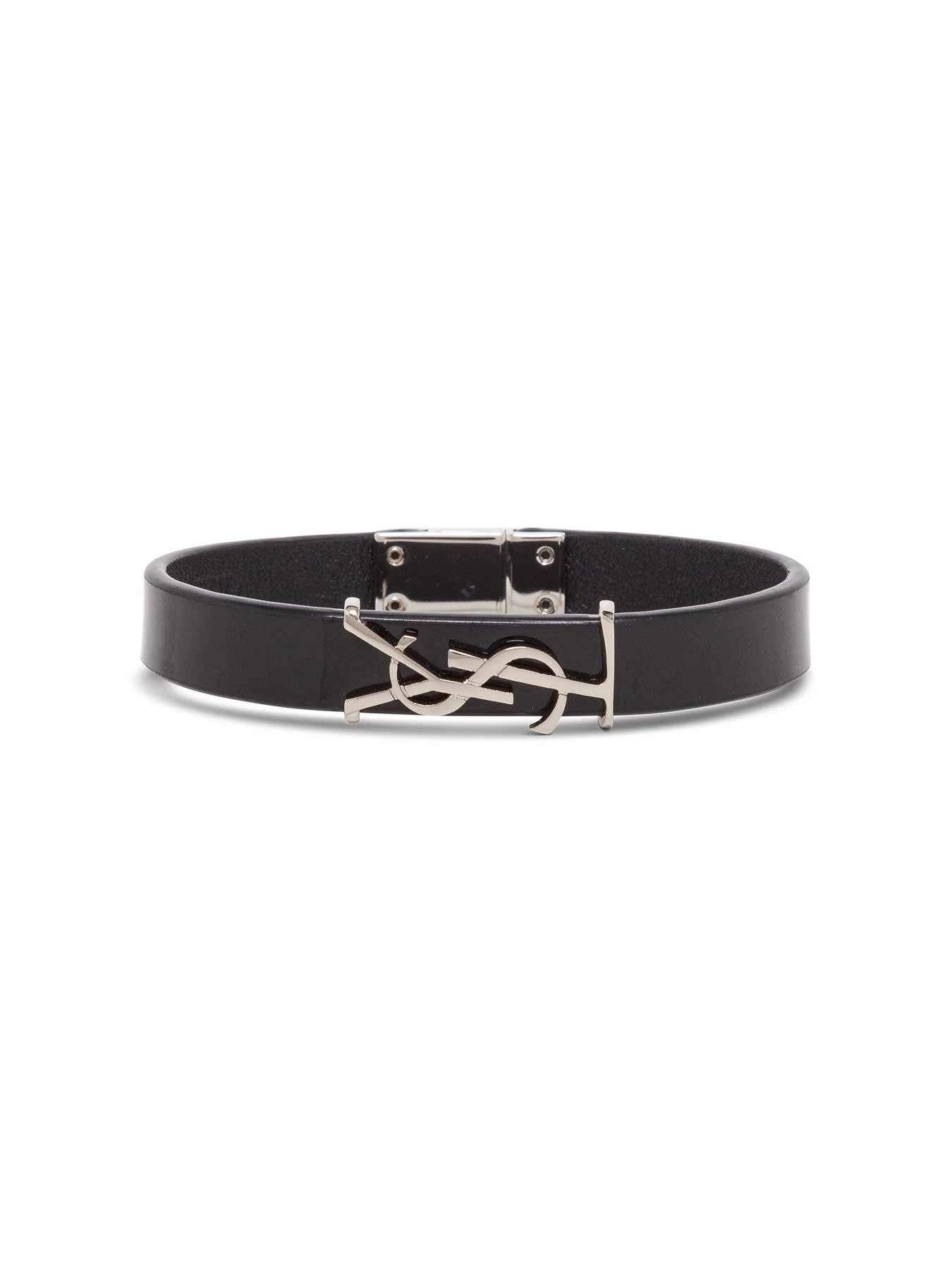 Saint Laurent Opyum Leather Bracelet