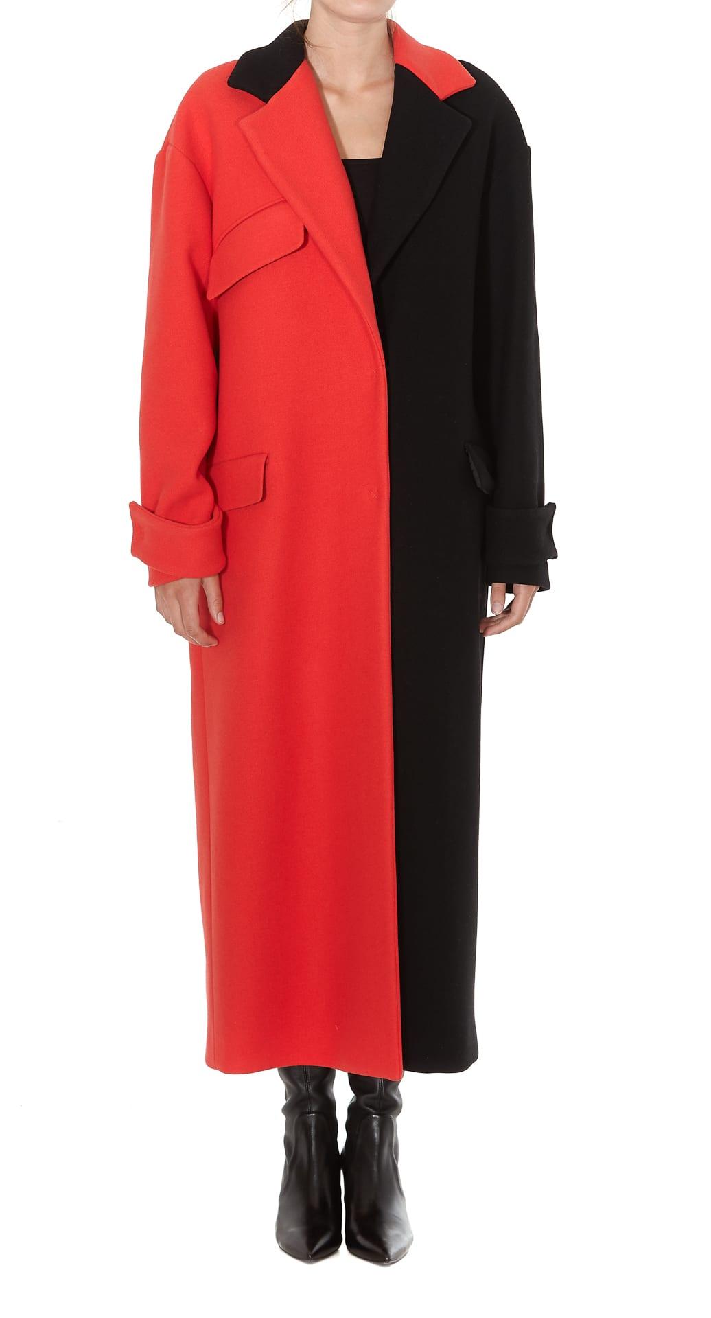 Msgm Bicolor Coat