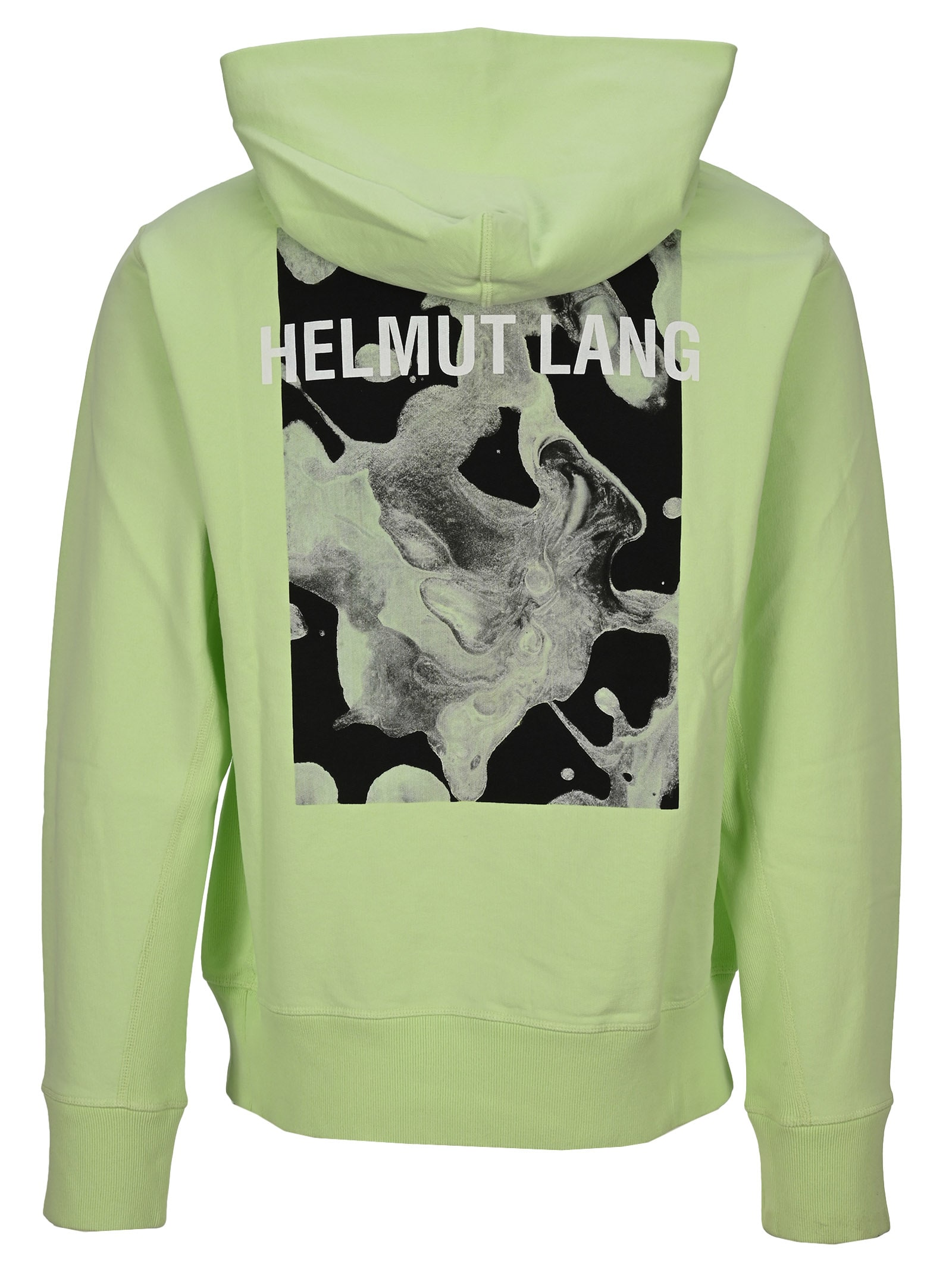 Recommend Cheap Helmut Lang Graphic Print Hoodie - Top Quality