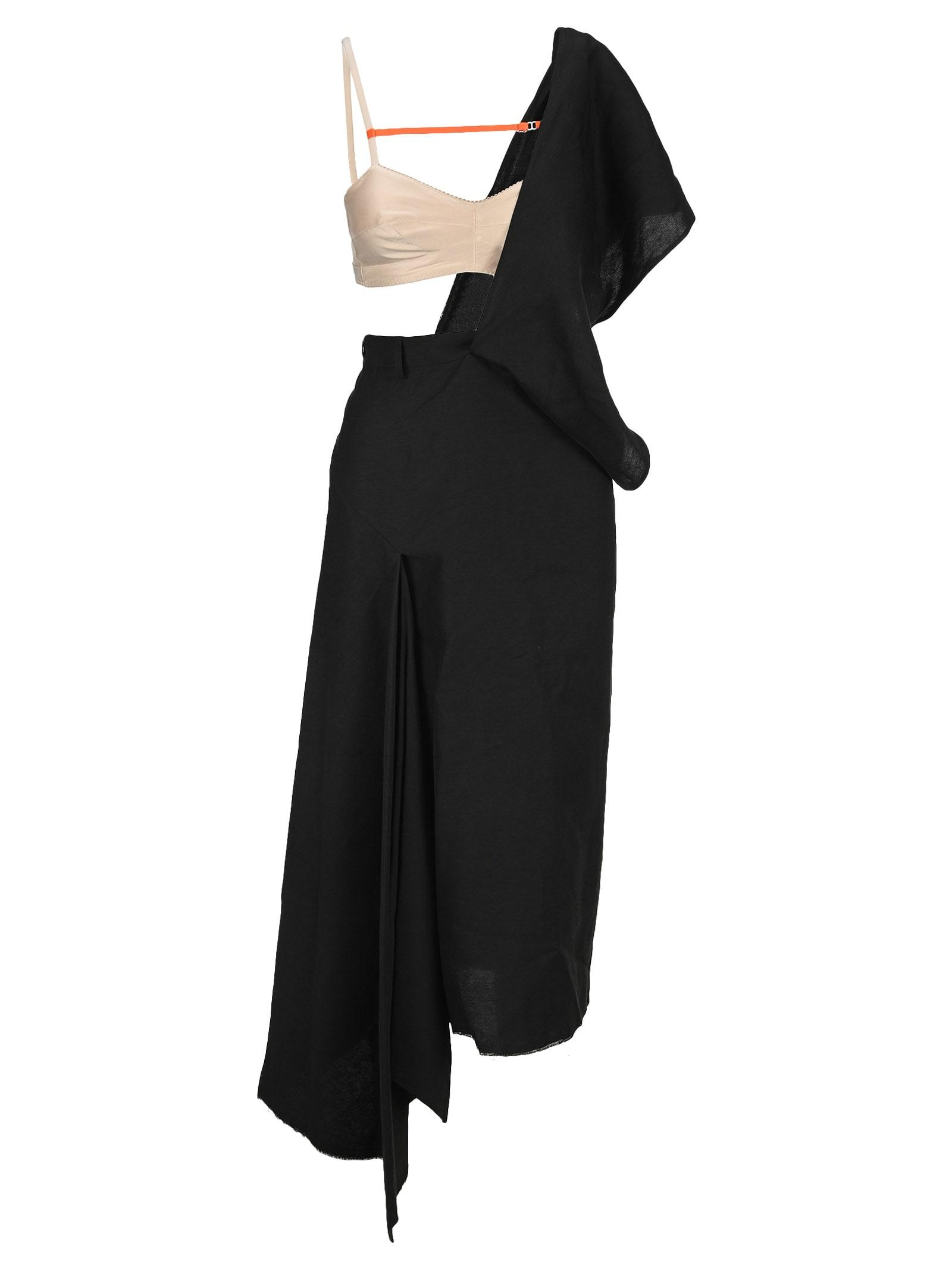 Buy Sportmax Asymmetrical Dress With Bra online, shop SportMax with free shipping