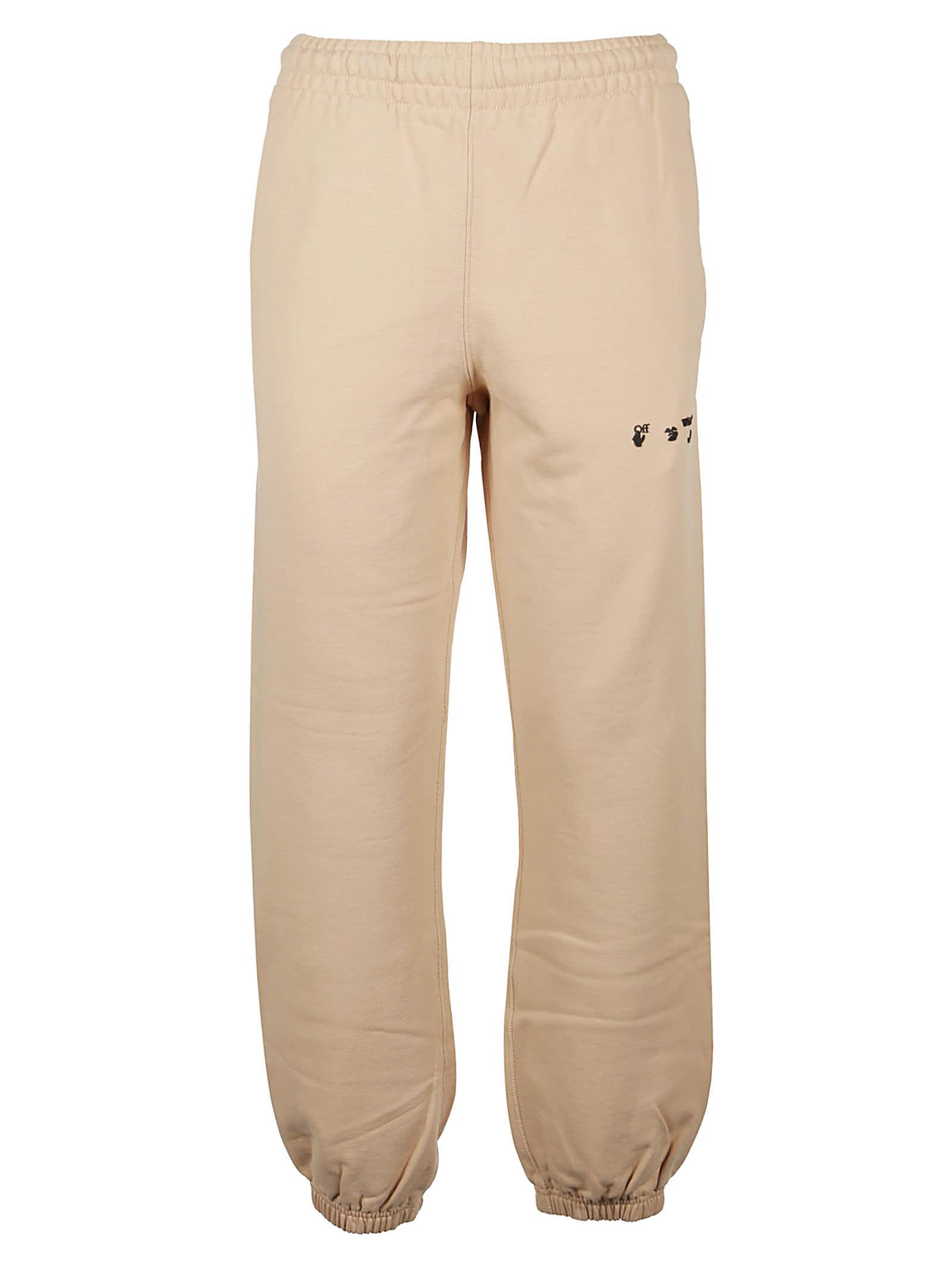 Off-White Clothing SWEAT PANT SLIM OW LOGO