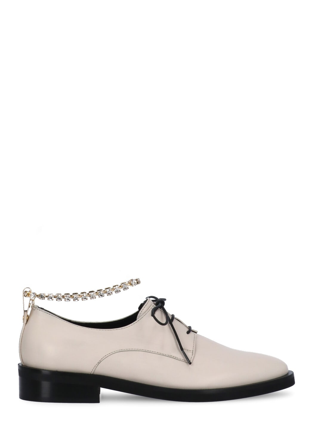 Derby Tab Lace-up Shoe
