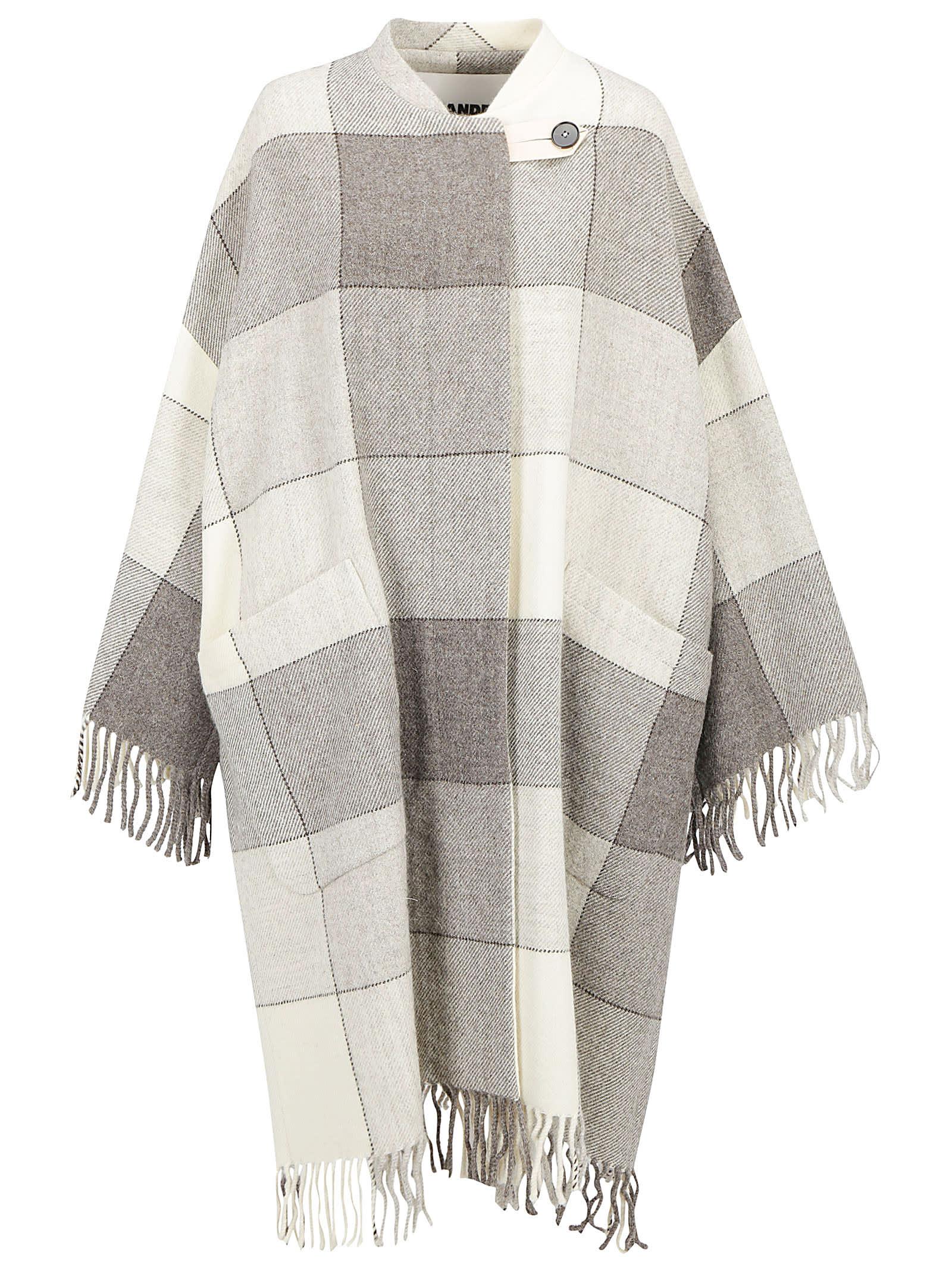 Jil Sander Luella Blanket Coat
