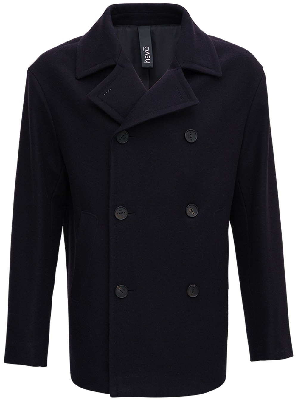 Double-breasted Wool Blend Jacket