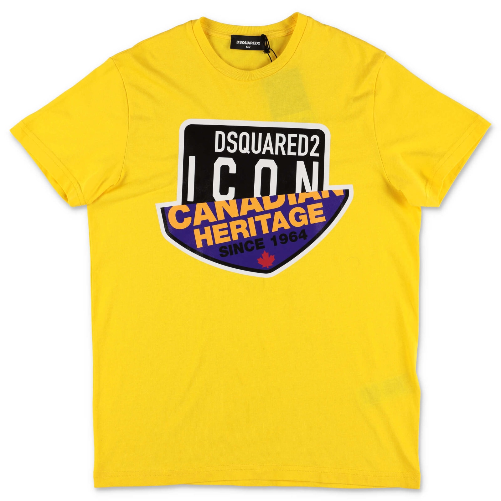 Dsquared2 Kids' T-shirt In Giallo
