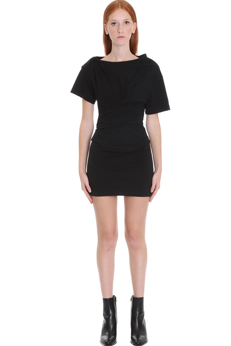 Alexander Wang Dress In Black Cotton