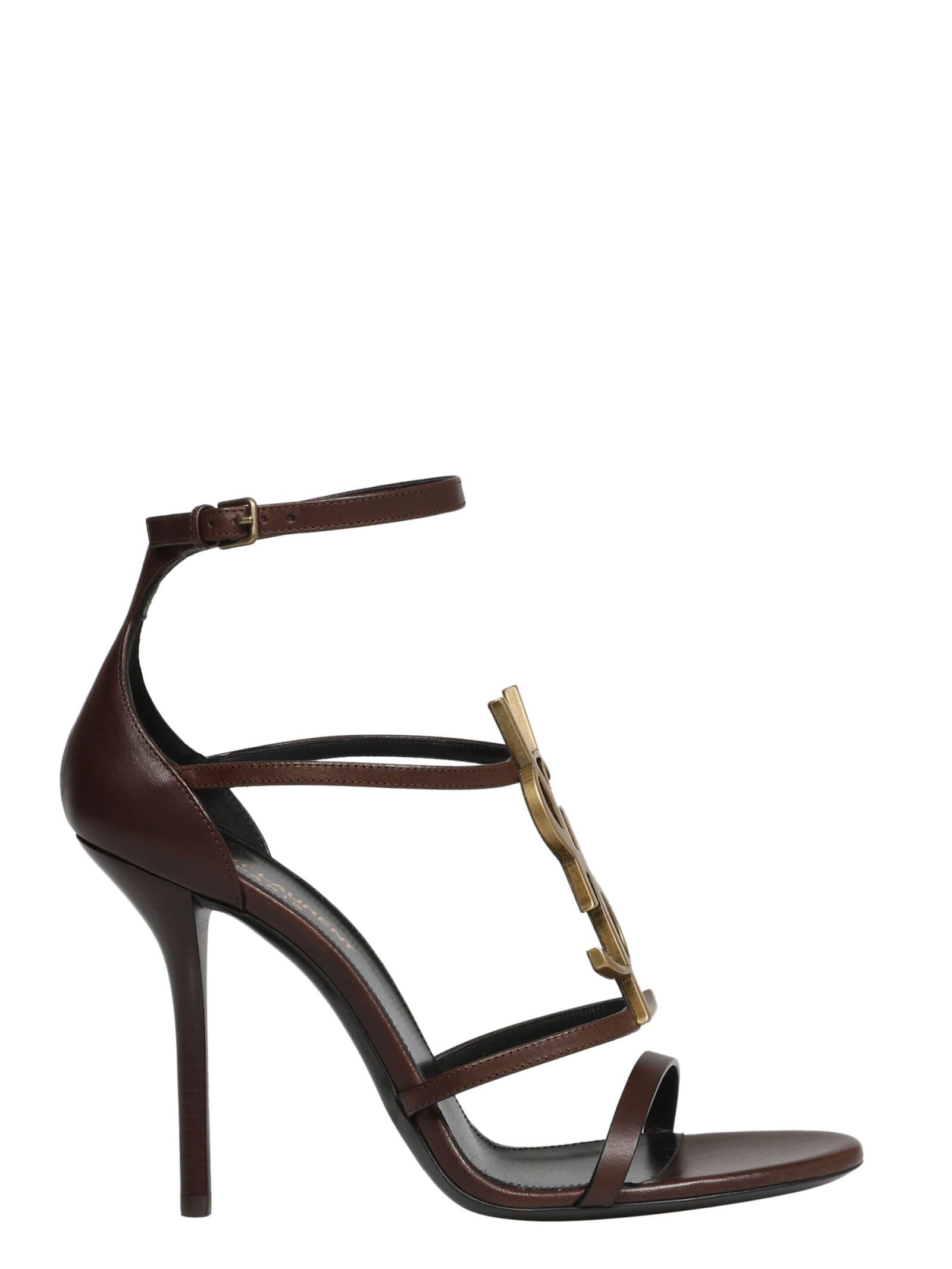Buy Saint Laurent Jota Sandals online, shop Saint Laurent shoes with free shipping