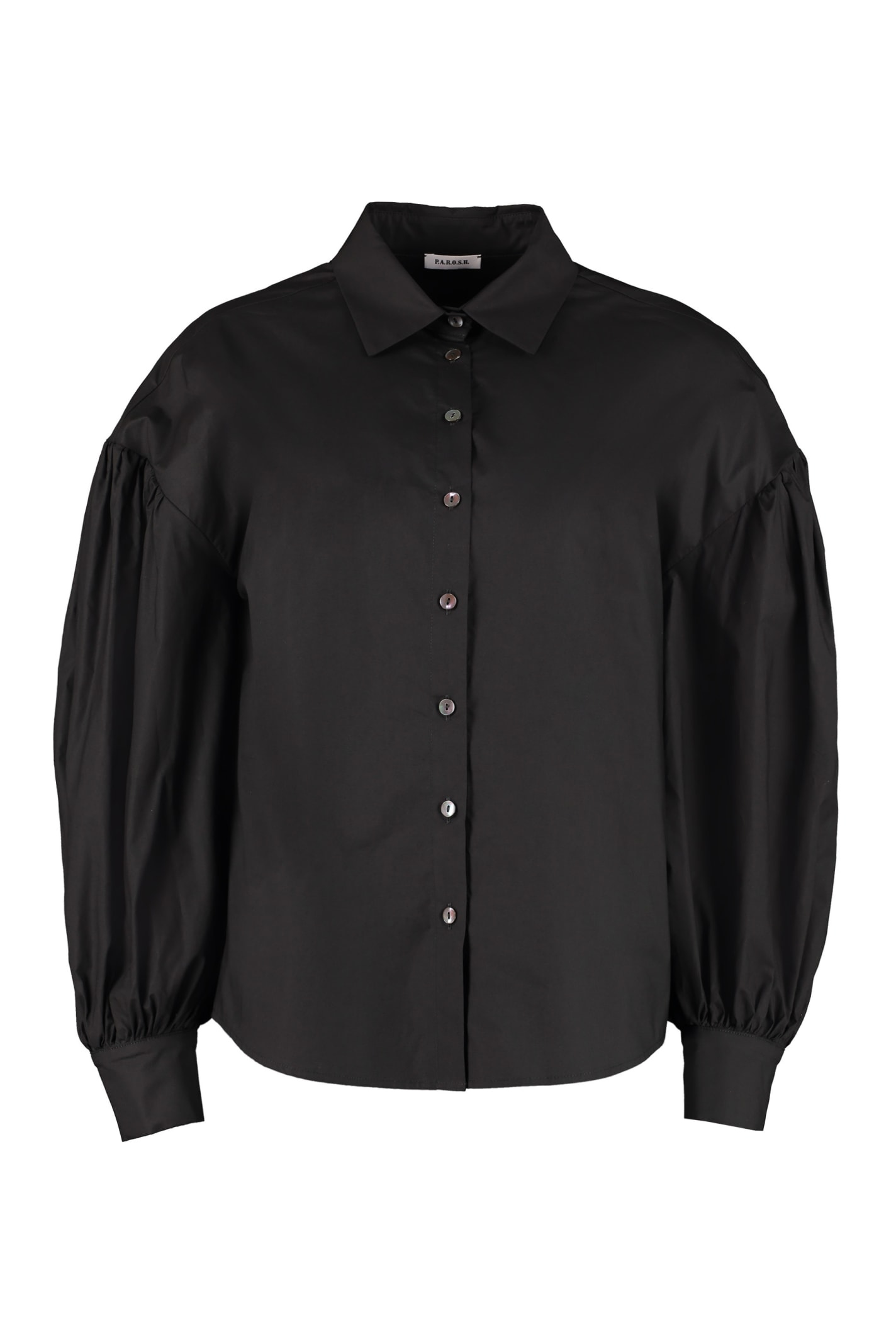 Parosh Long Sleeve Cotton Shirt