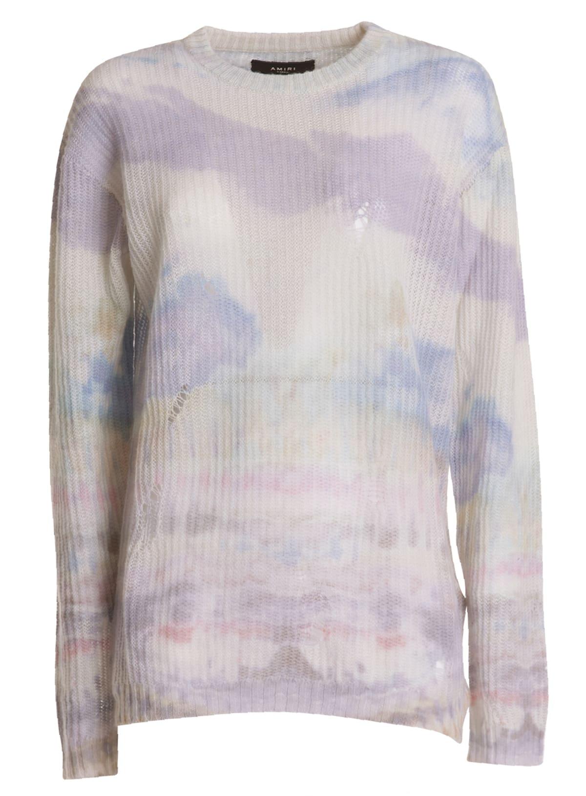 Amiri Tye Dye Sweater