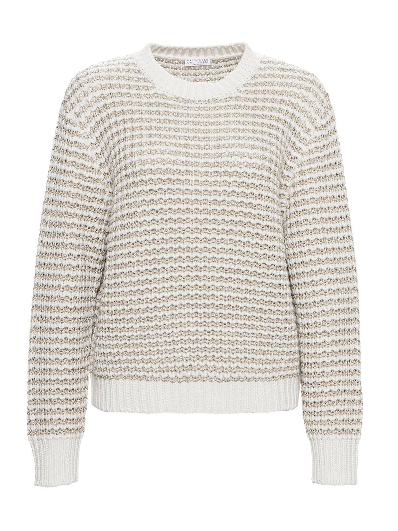 Brunello Cucinelli Glitter Sweater