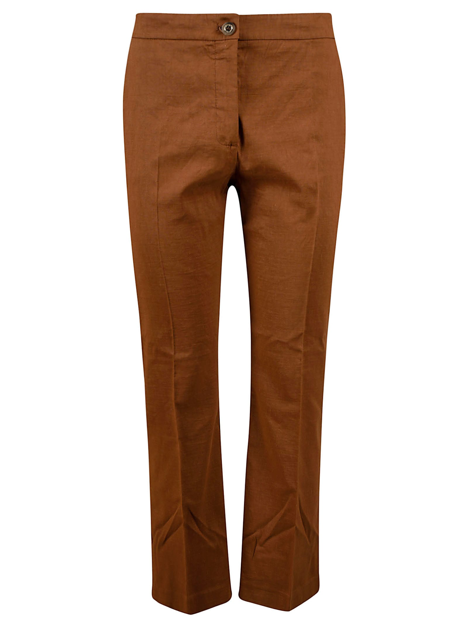 Pinko Linens CLASSIC BUTTONED TROUSERS