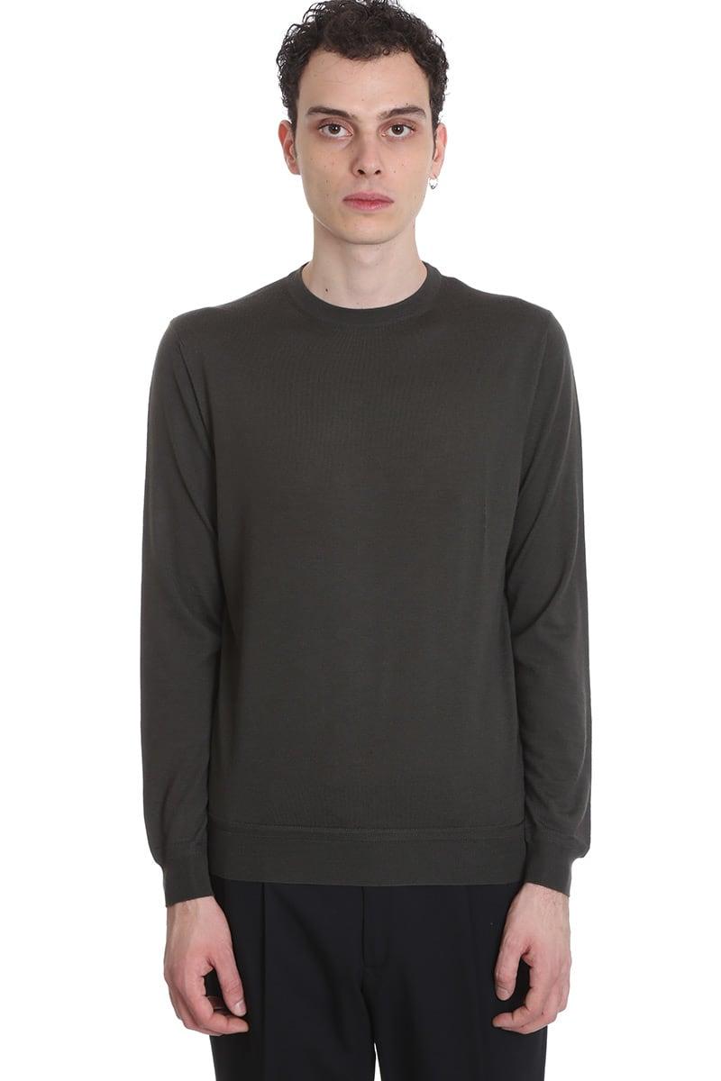 Ermenegildo Zegna Knitwear In Green Polyester