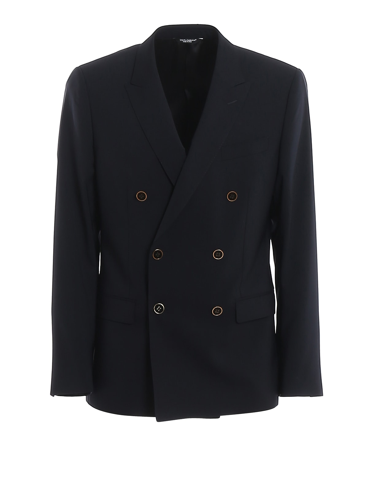 Dolce & Gabbana Double Breasted Martini Blazer