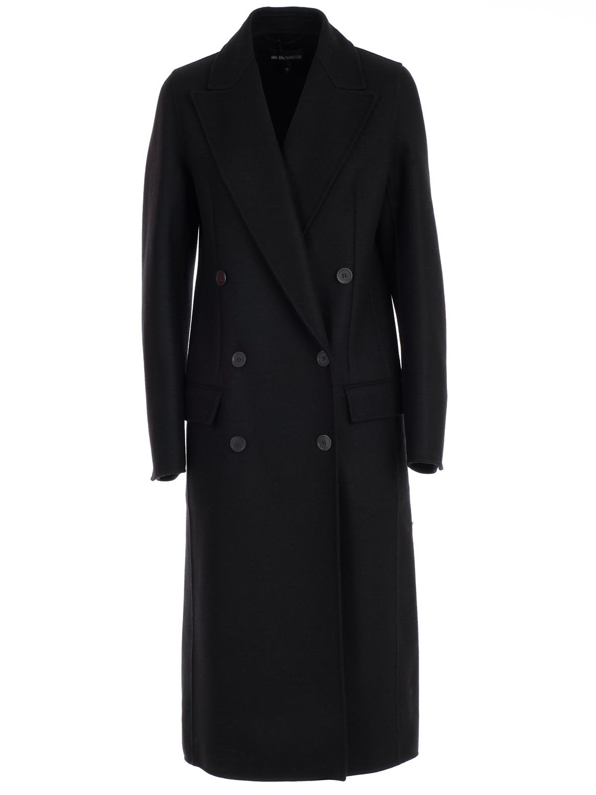 Ann Demeulemeester Coat Double Breasted
