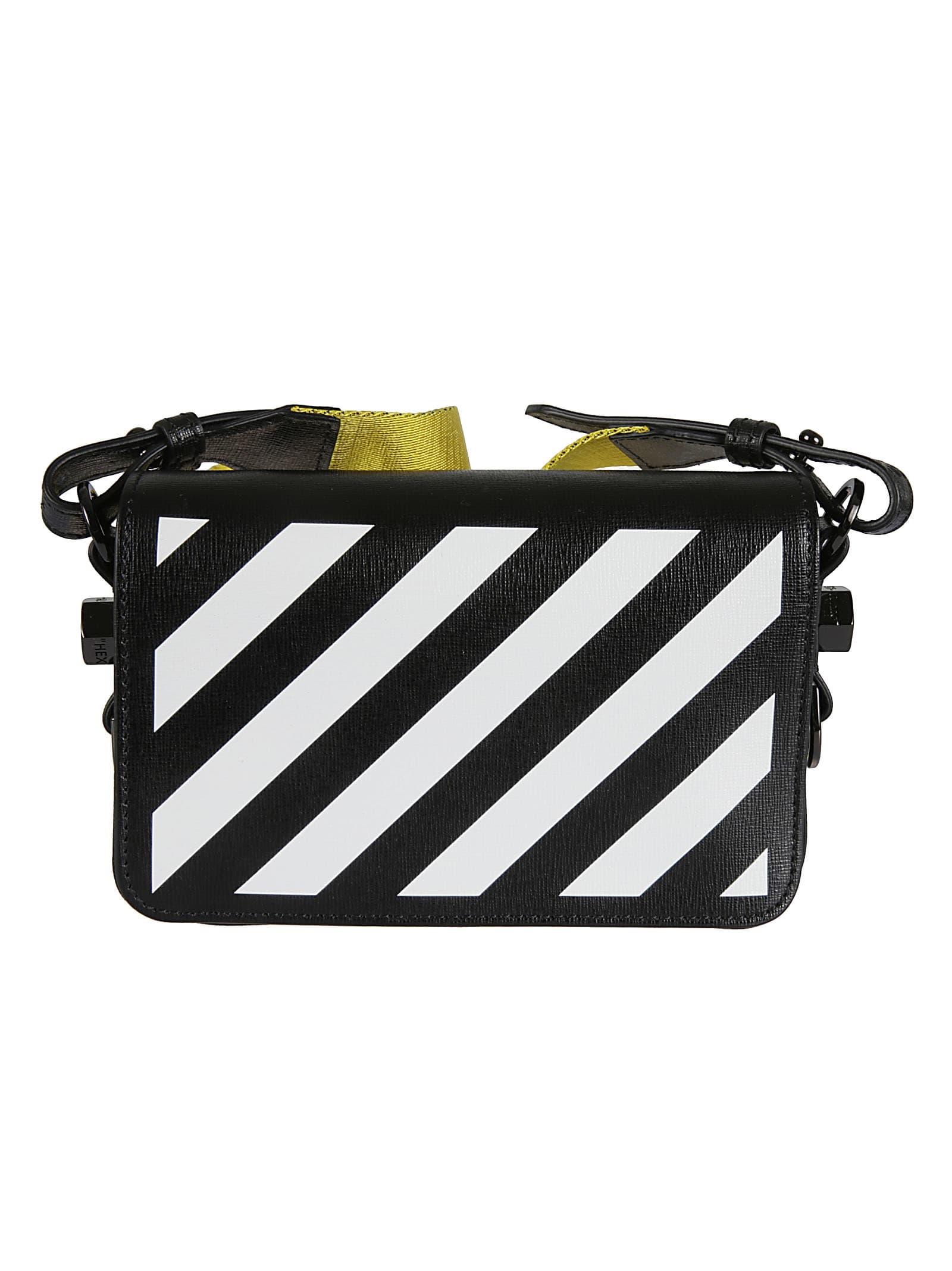 Off-White Diag Mini Flap Shoulder Bag